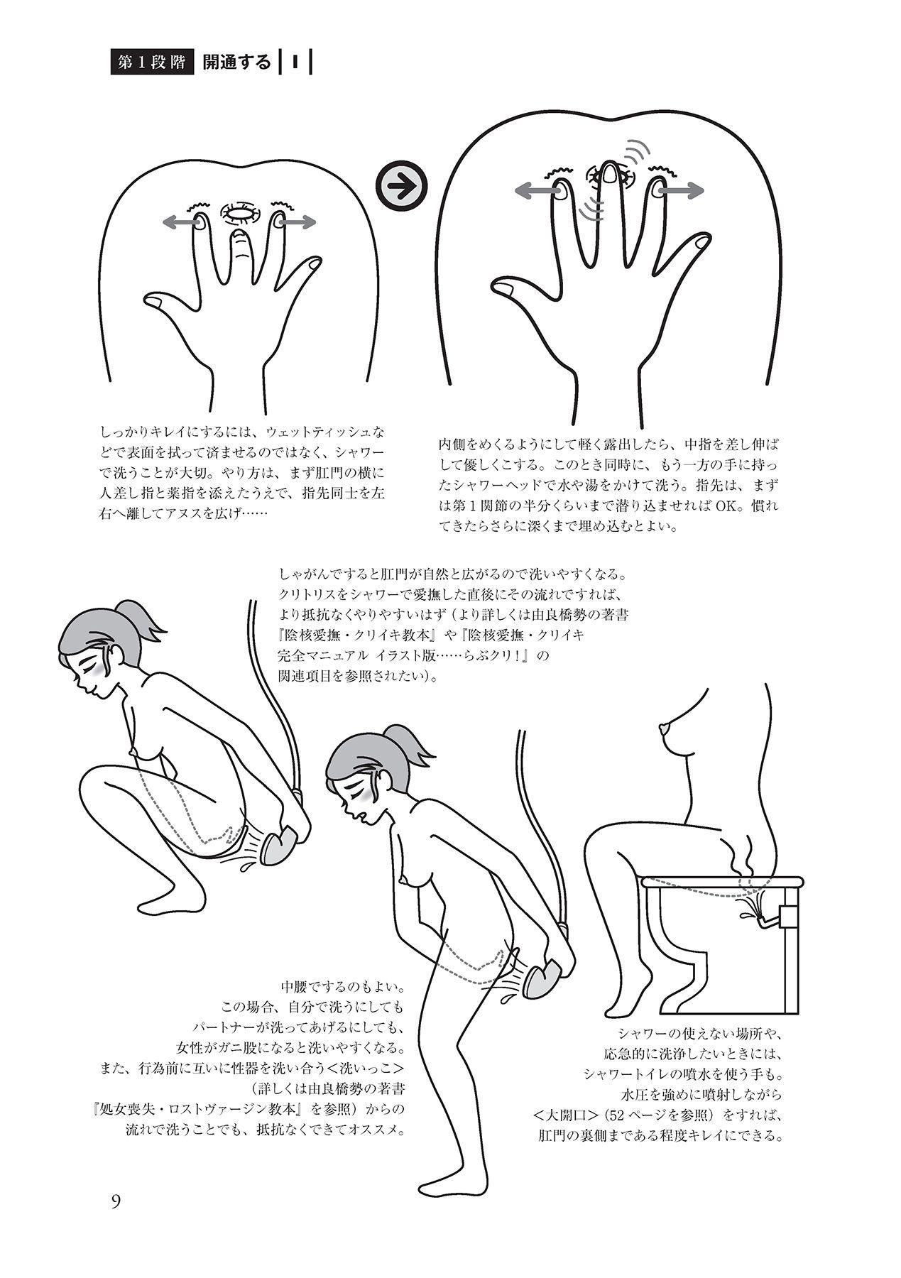 アナル性感開発・お尻エッチ 完全マニュアル 10