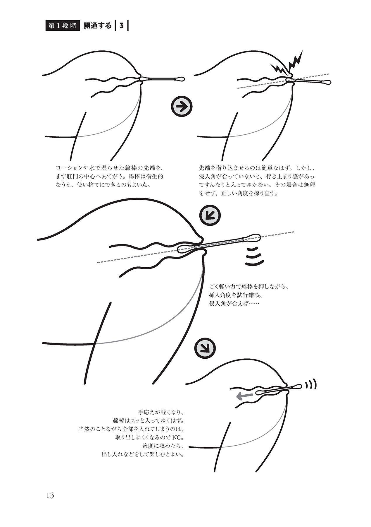 アナル性感開発・お尻エッチ 完全マニュアル 14