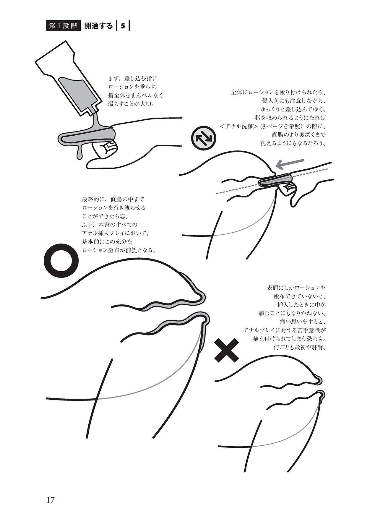 アナル性感開発・お尻エッチ 完全マニュアル 18