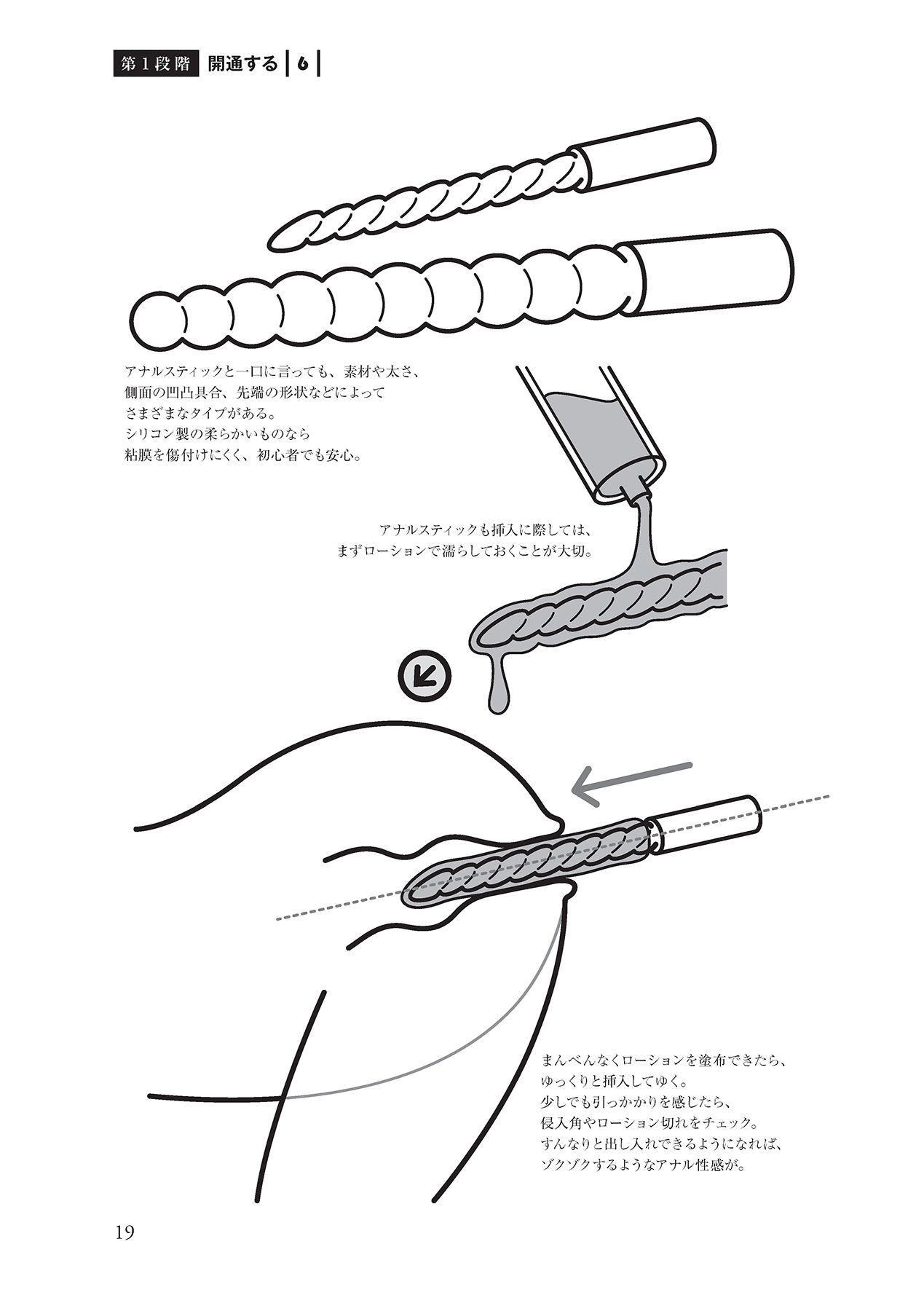 アナル性感開発・お尻エッチ 完全マニュアル 20