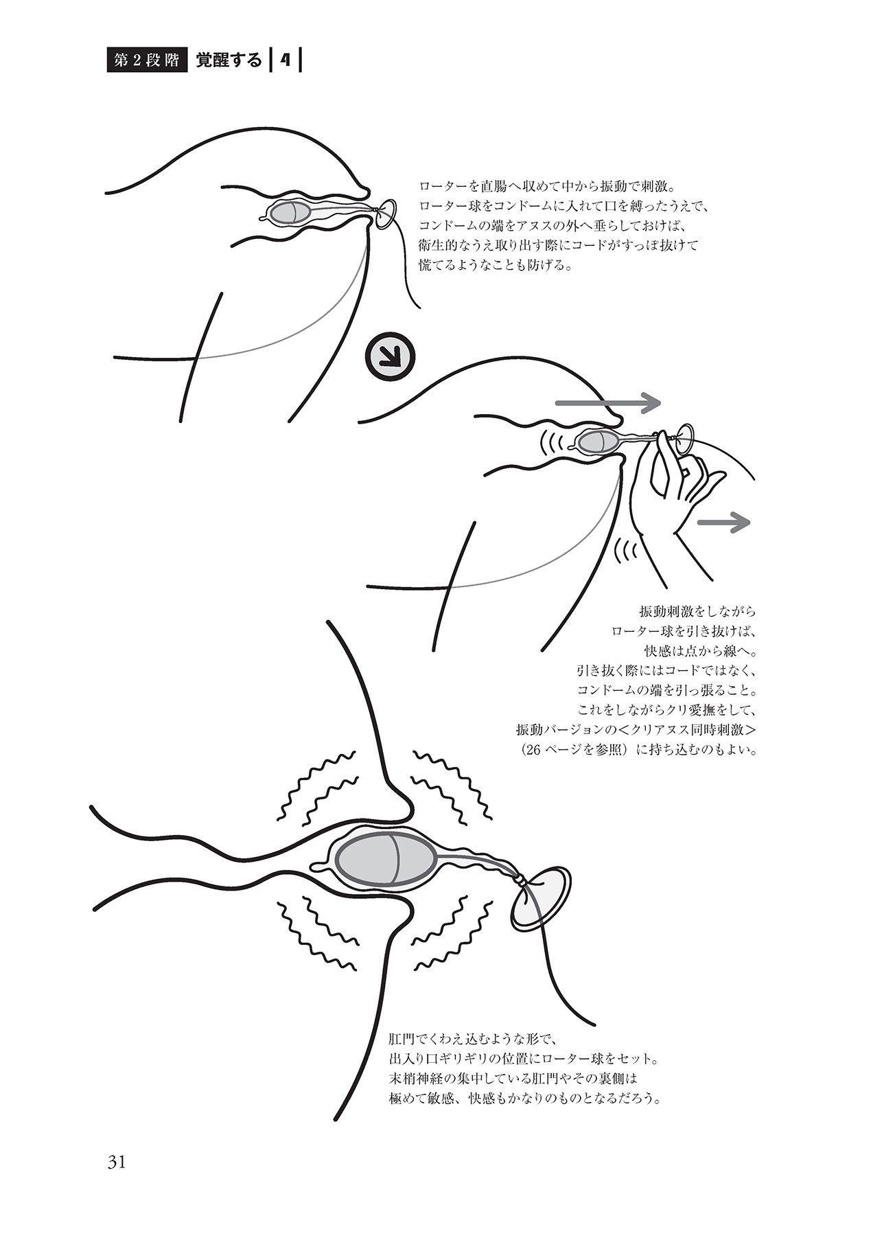 アナル性感開発・お尻エッチ 完全マニュアル 32