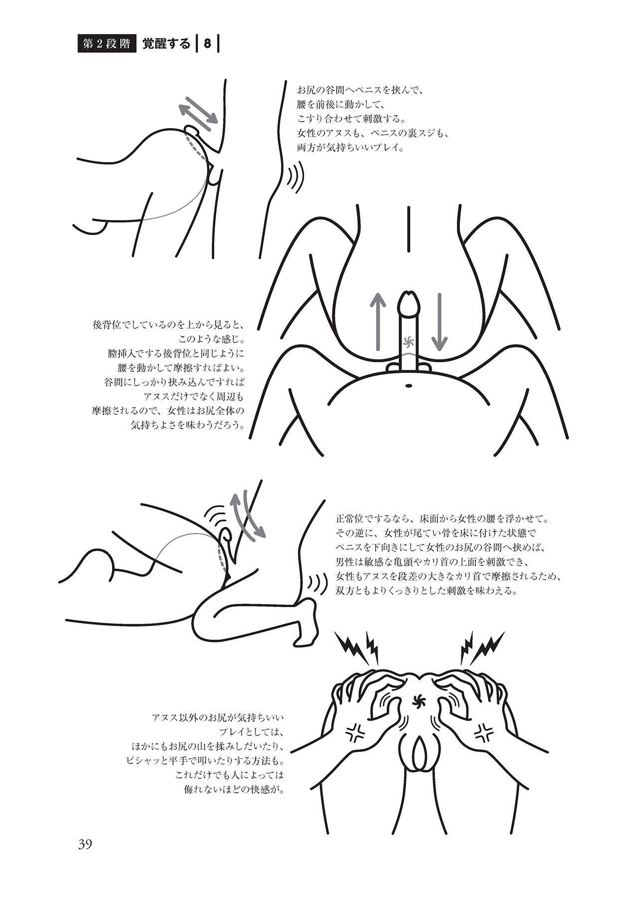 アナル性感開発・お尻エッチ 完全マニュアル 40