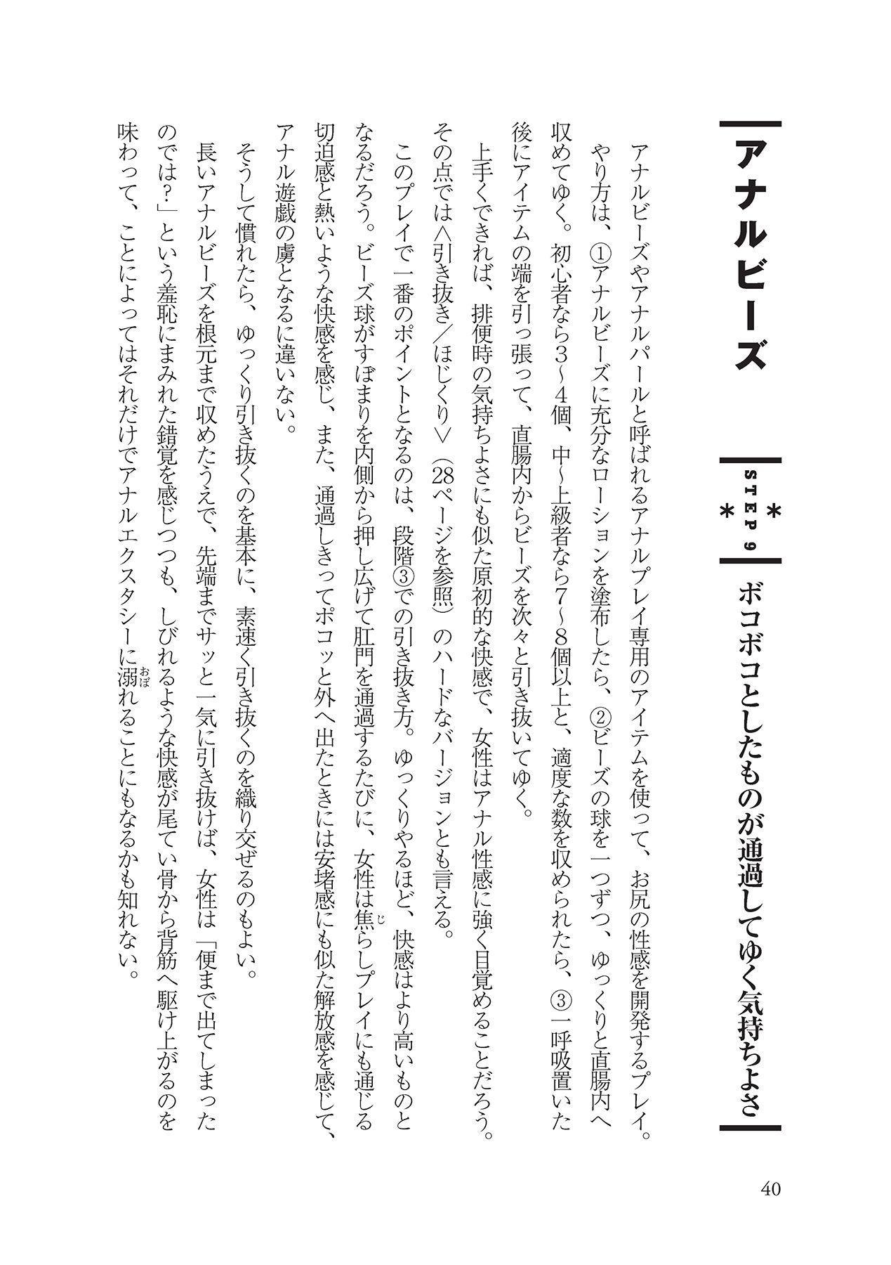 アナル性感開発・お尻エッチ 完全マニュアル 41