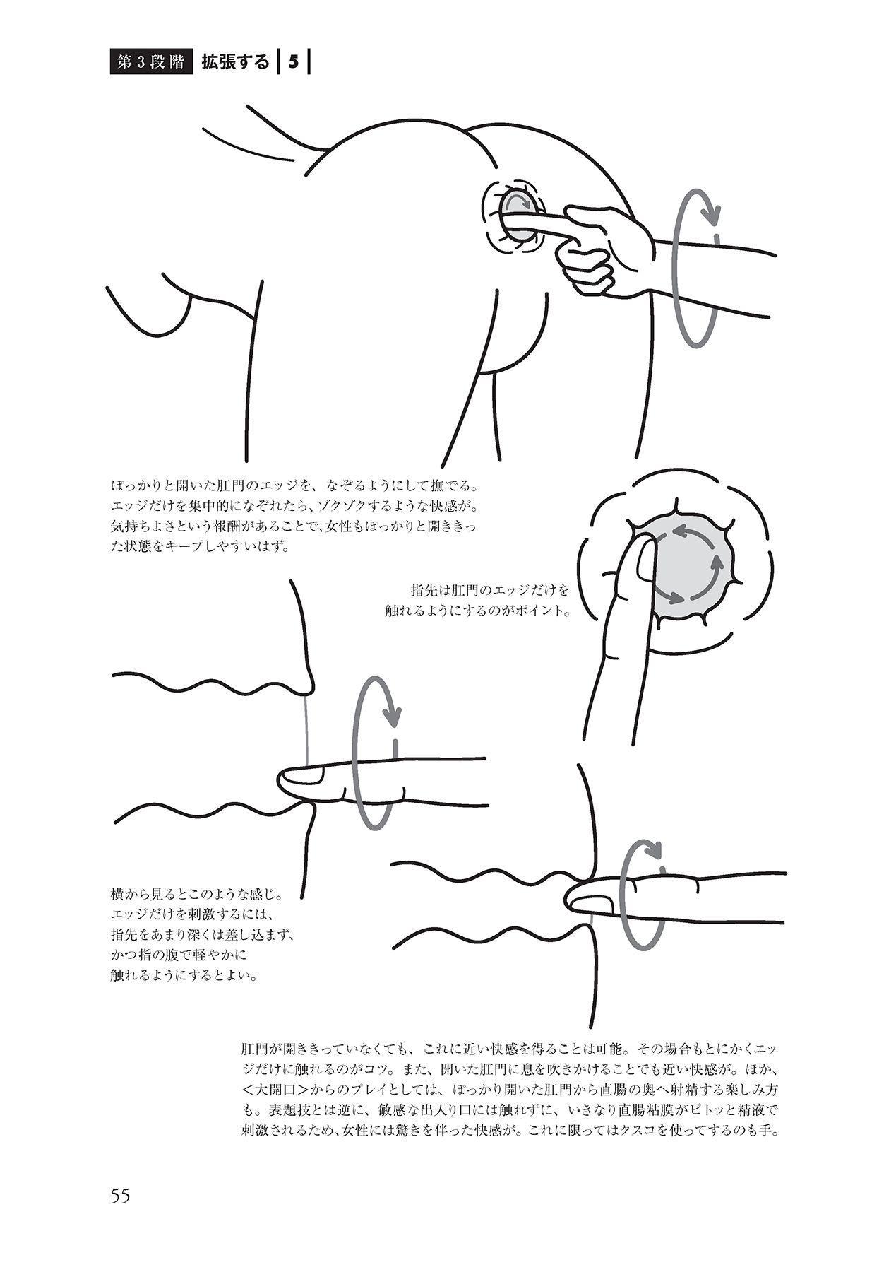 アナル性感開発・お尻エッチ 完全マニュアル 56