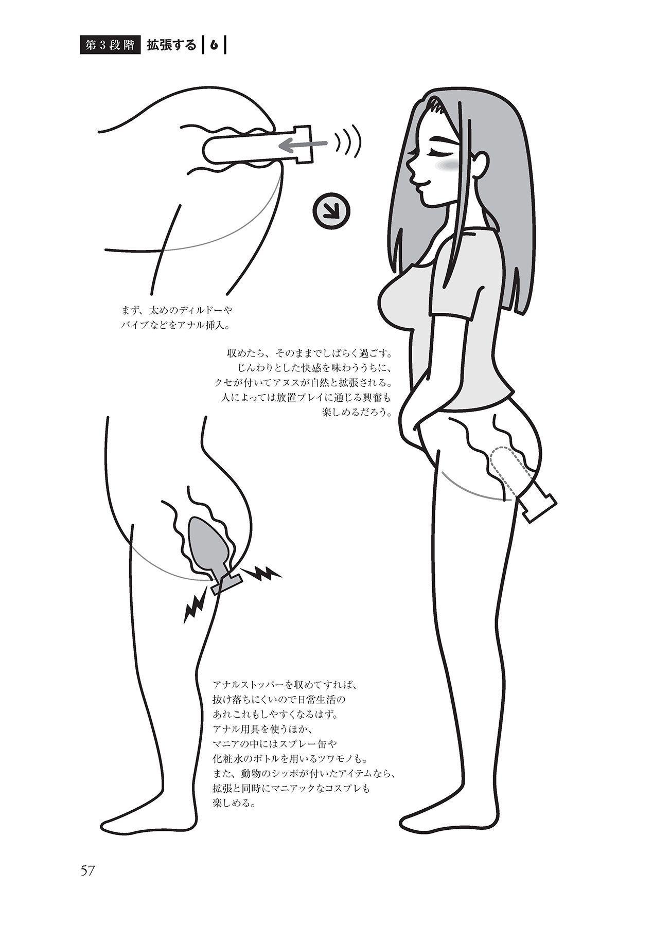 アナル性感開発・お尻エッチ 完全マニュアル 58
