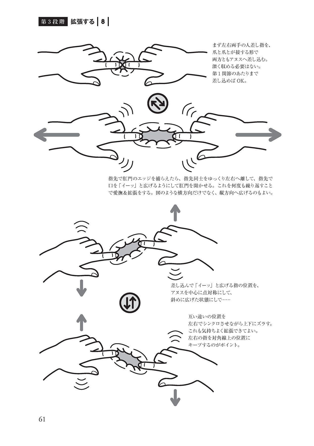 アナル性感開発・お尻エッチ 完全マニュアル 62