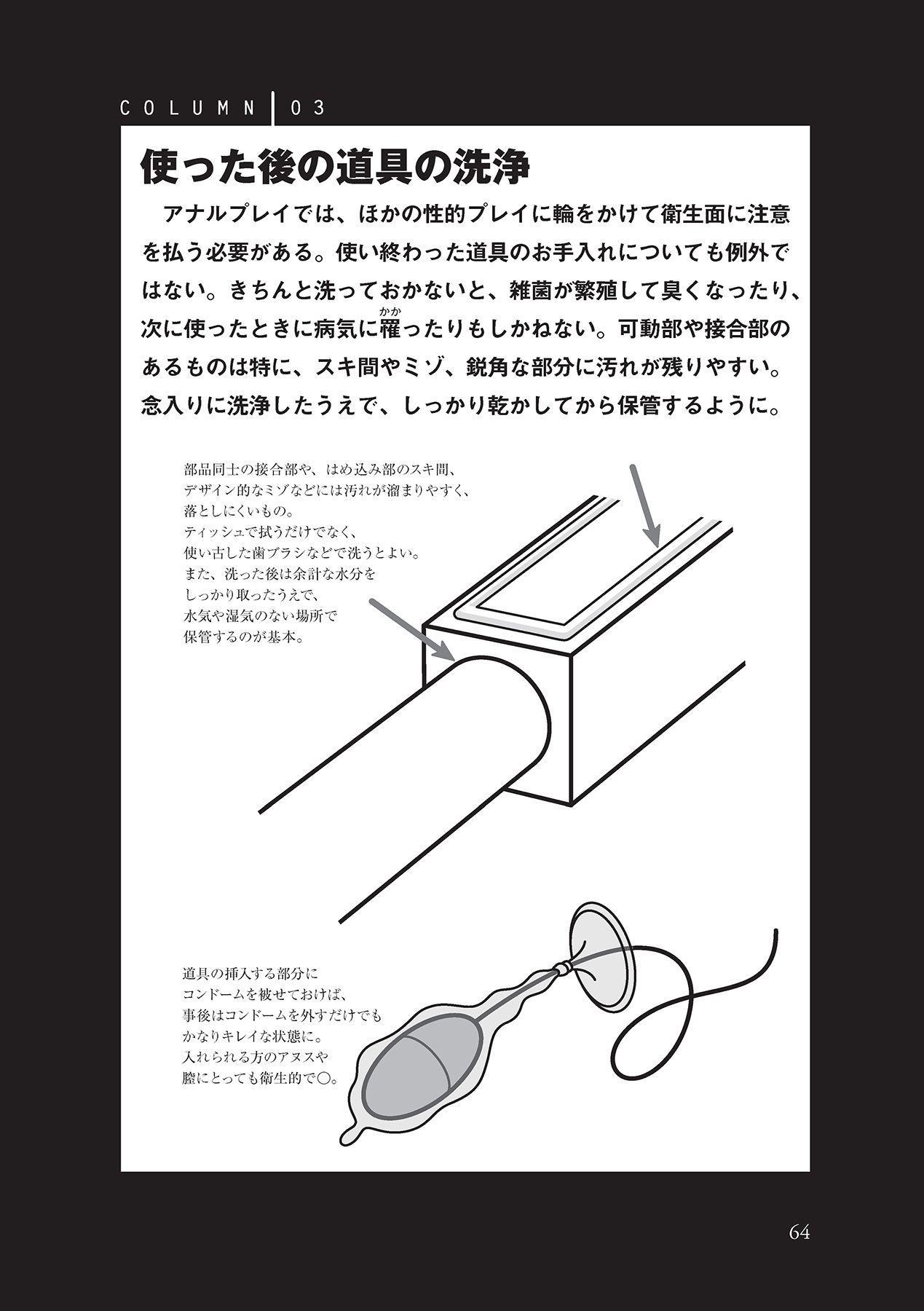 アナル性感開発・お尻エッチ 完全マニュアル 65