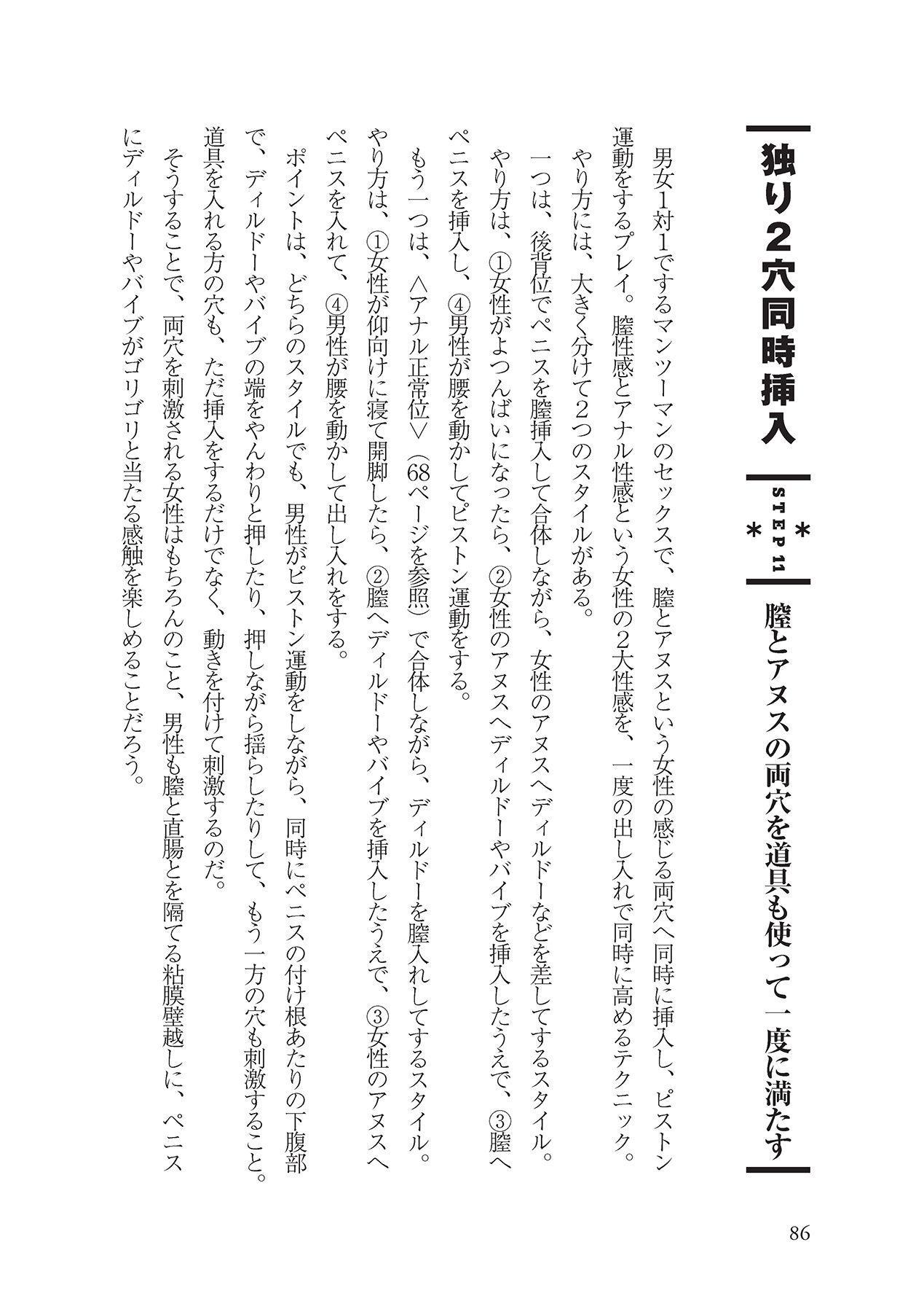 アナル性感開発・お尻エッチ 完全マニュアル 87