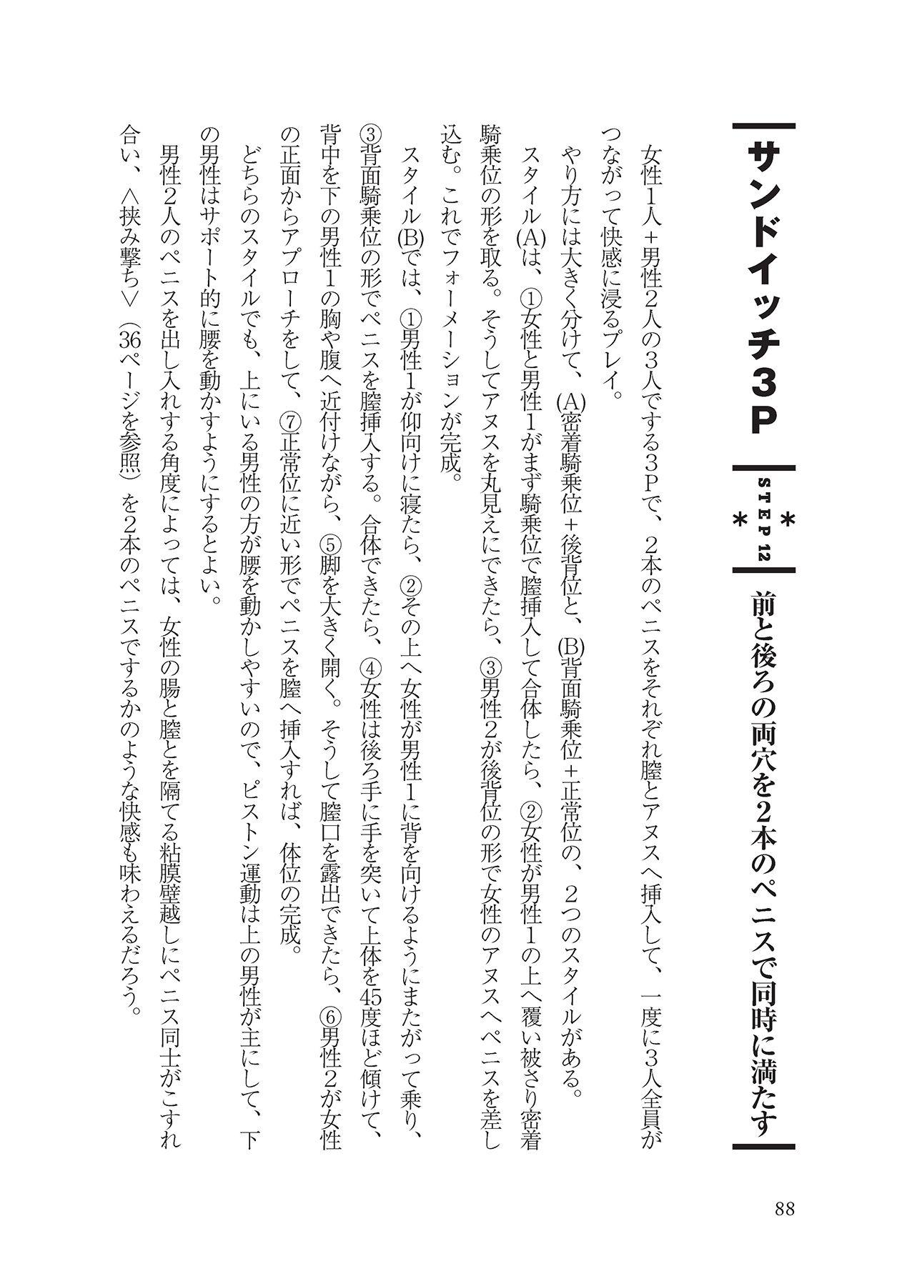 アナル性感開発・お尻エッチ 完全マニュアル 89