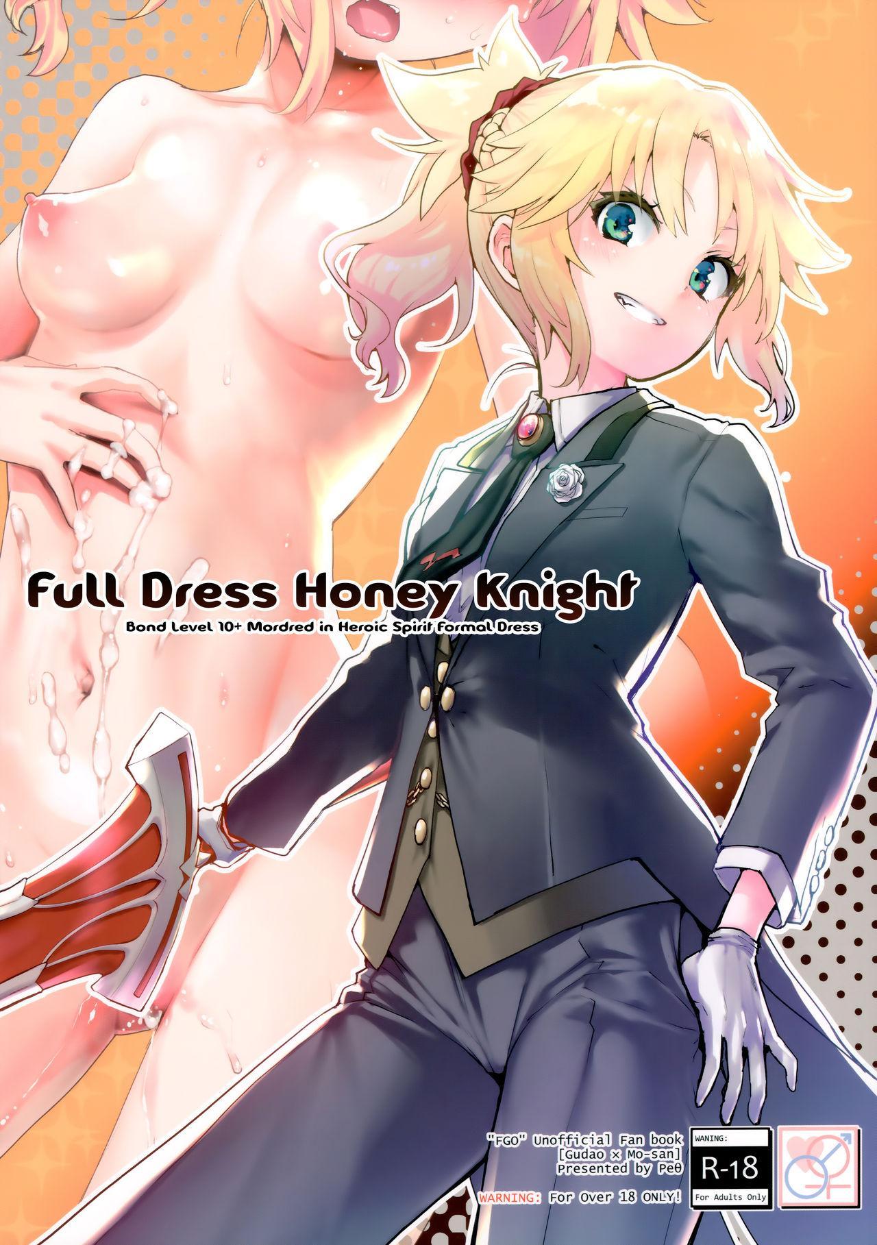 (COMIC1☆16) [Peθ (Mozu)] Full Dress Honey Knight -Kizuna10+ no Mor-san to Eirei Seisou- (Fate/Grand Order) [English] [EHCOVE] 0
