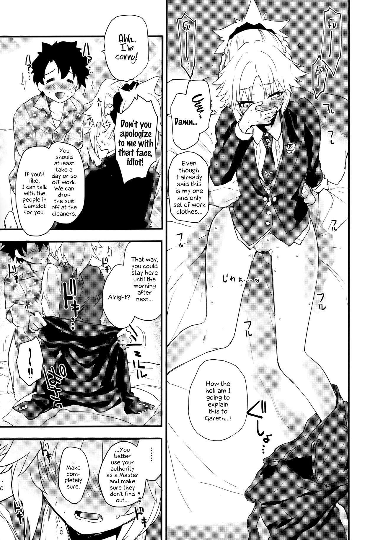 (COMIC1☆16) [Peθ (Mozu)] Full Dress Honey Knight -Kizuna10+ no Mor-san to Eirei Seisou- (Fate/Grand Order) [English] [EHCOVE] 9