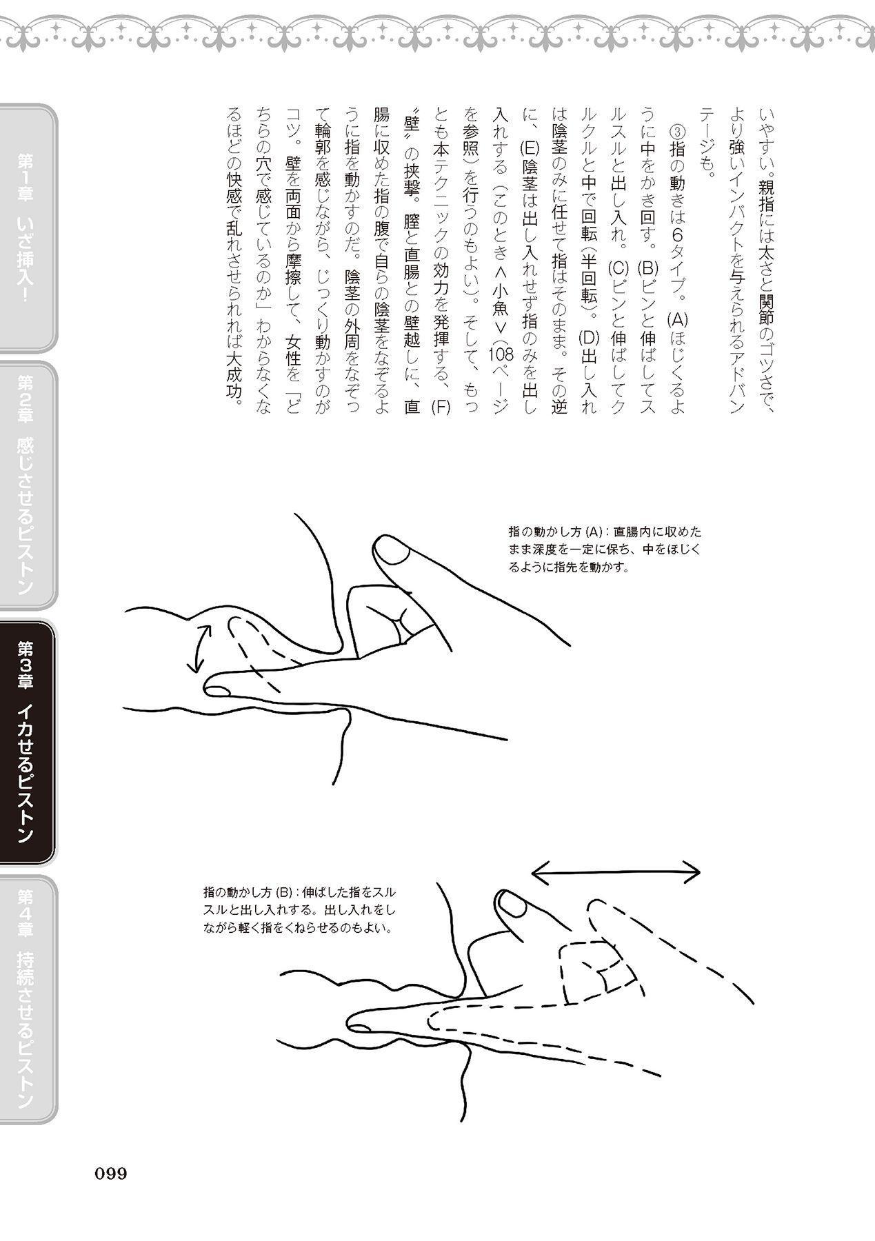 膣挿入&ピストン運動完全マニュアル イラスト版……ピスとんッ! 100