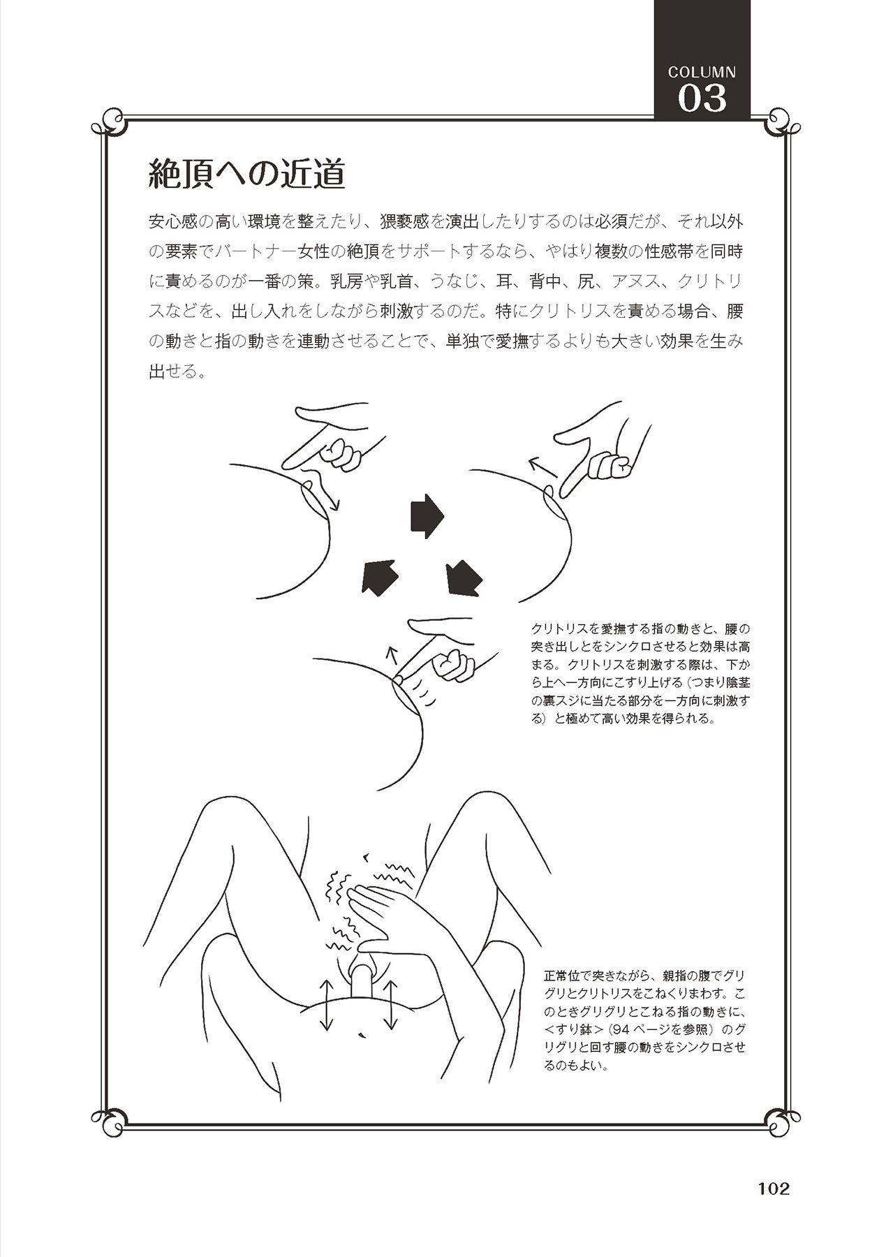 膣挿入&ピストン運動完全マニュアル イラスト版……ピスとんッ! 103