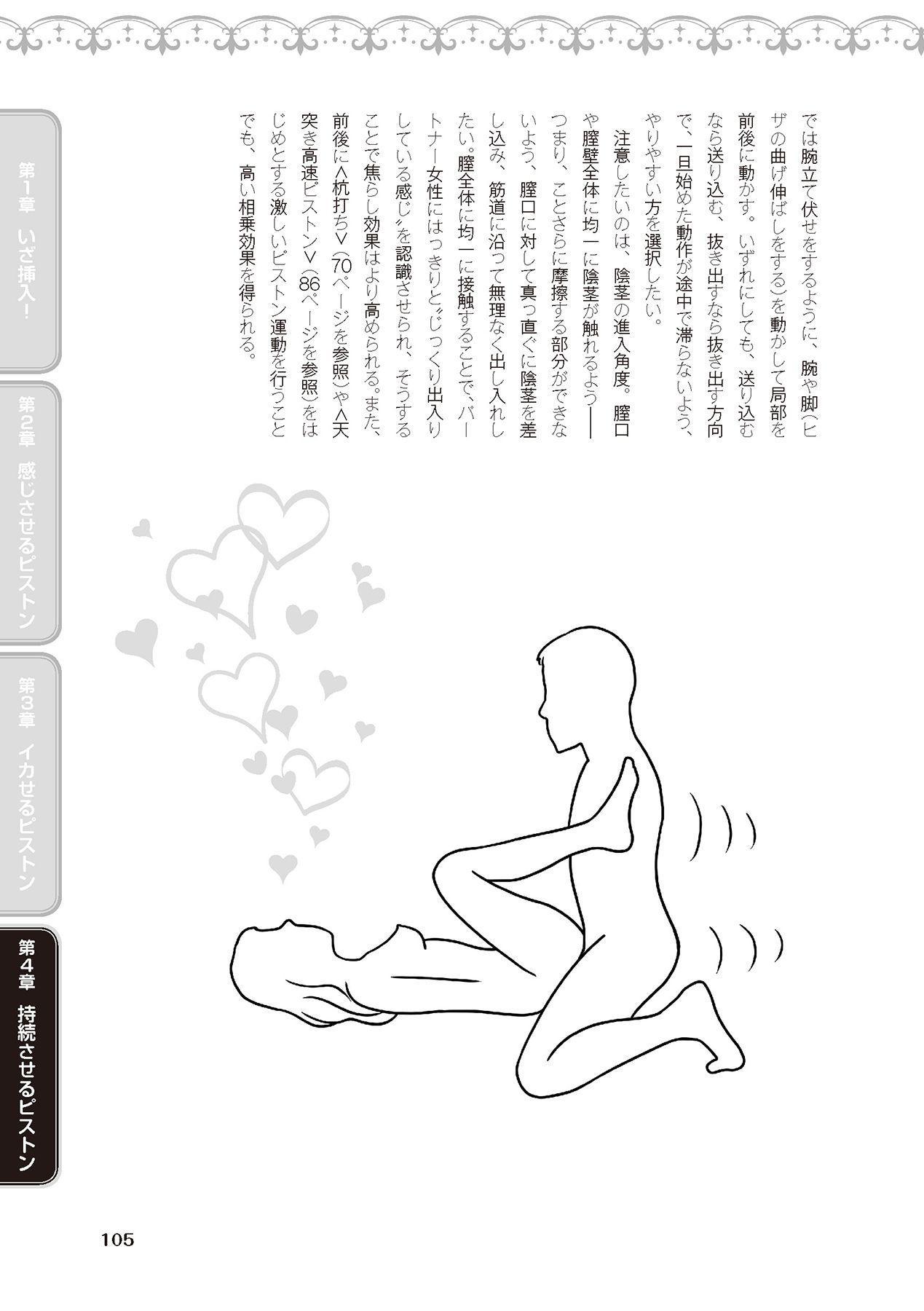 膣挿入&ピストン運動完全マニュアル イラスト版……ピスとんッ! 106
