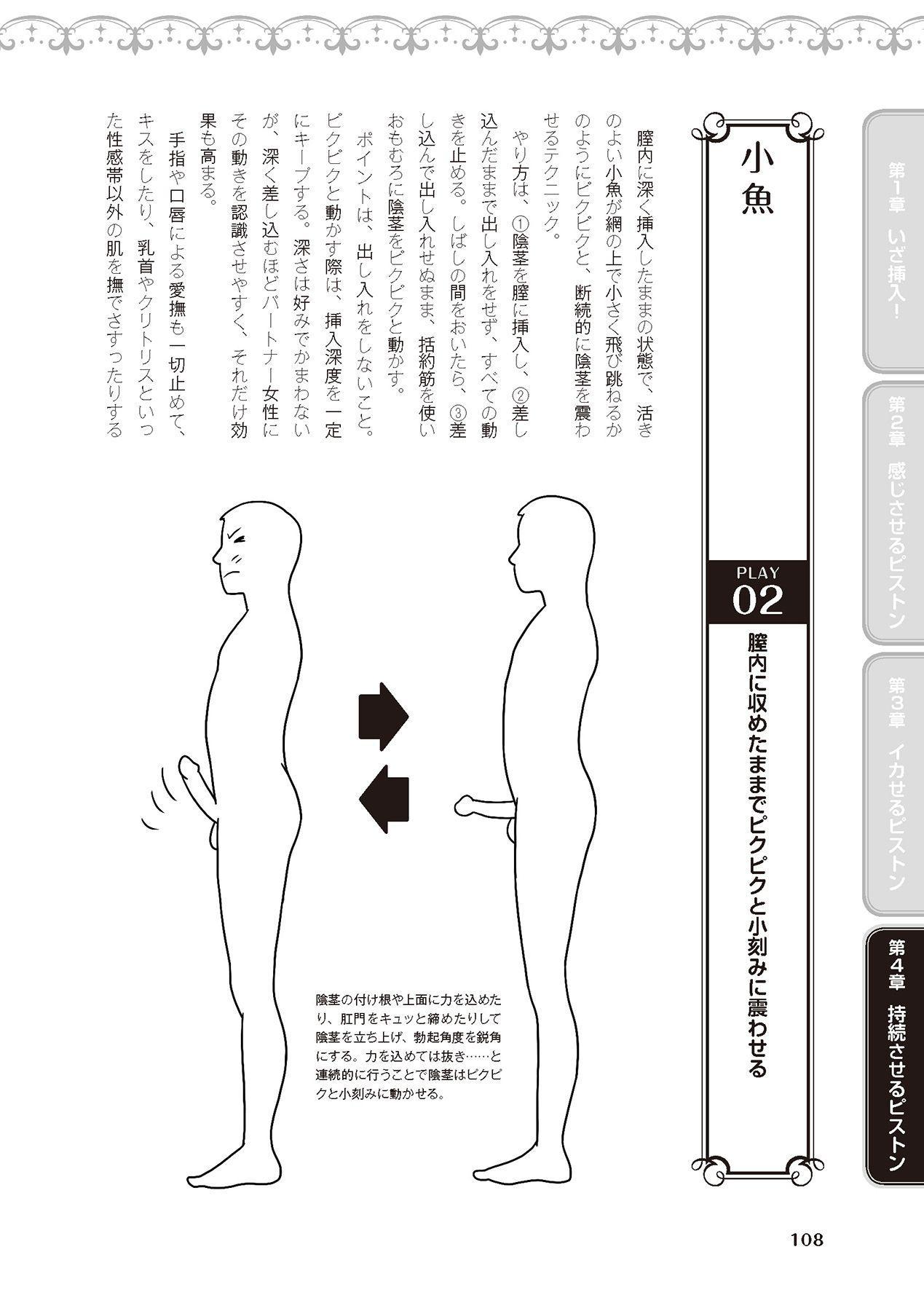 膣挿入&ピストン運動完全マニュアル イラスト版……ピスとんッ! 109