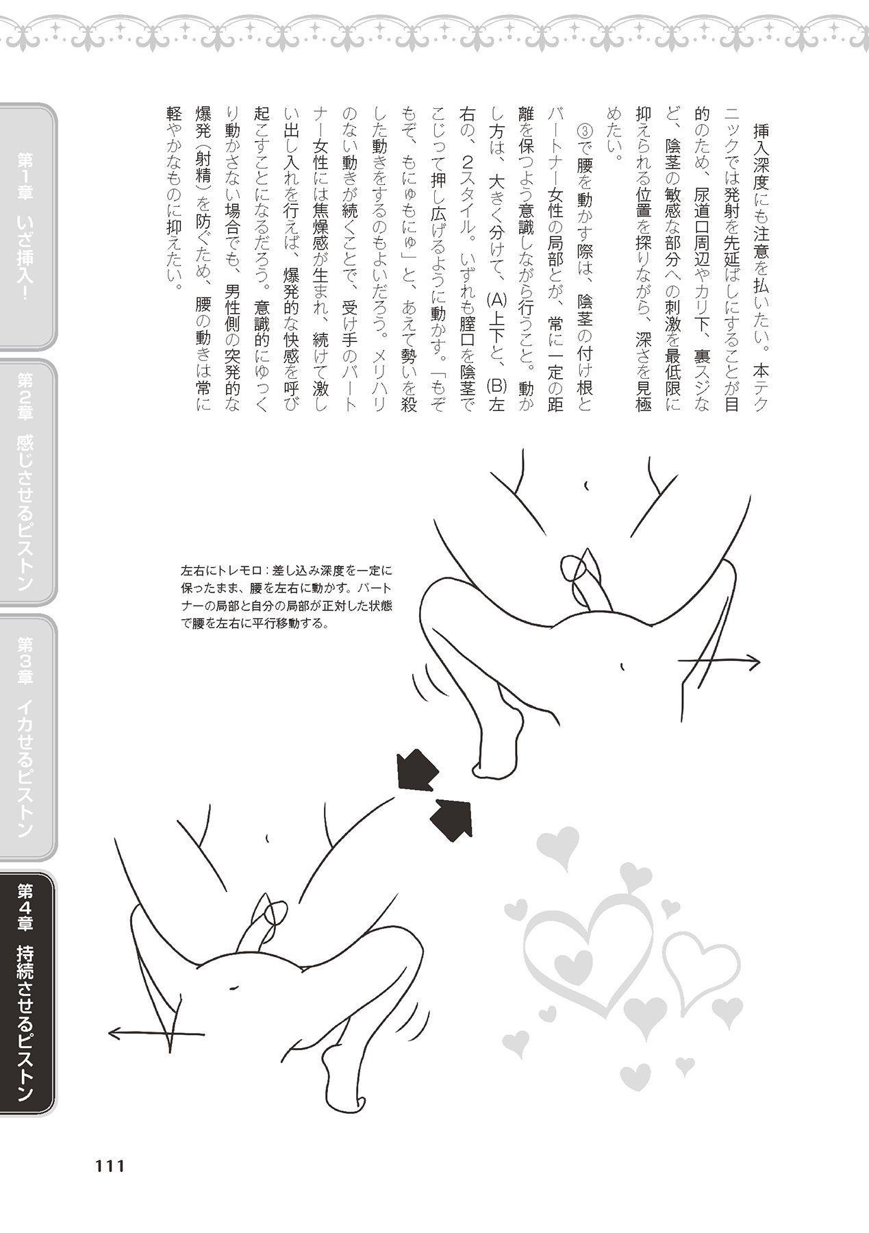 膣挿入&ピストン運動完全マニュアル イラスト版……ピスとんッ! 112