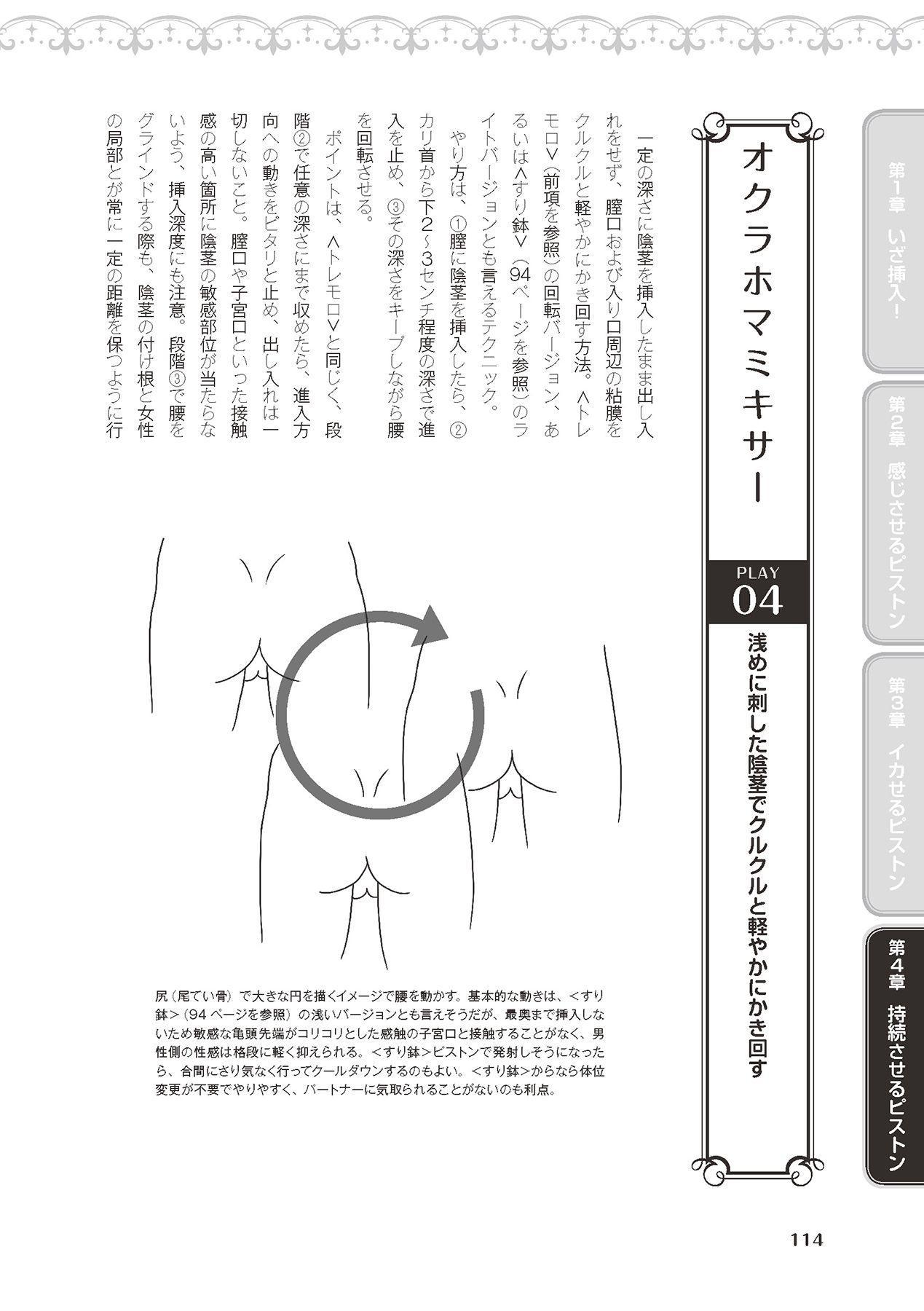 膣挿入&ピストン運動完全マニュアル イラスト版……ピスとんッ! 115