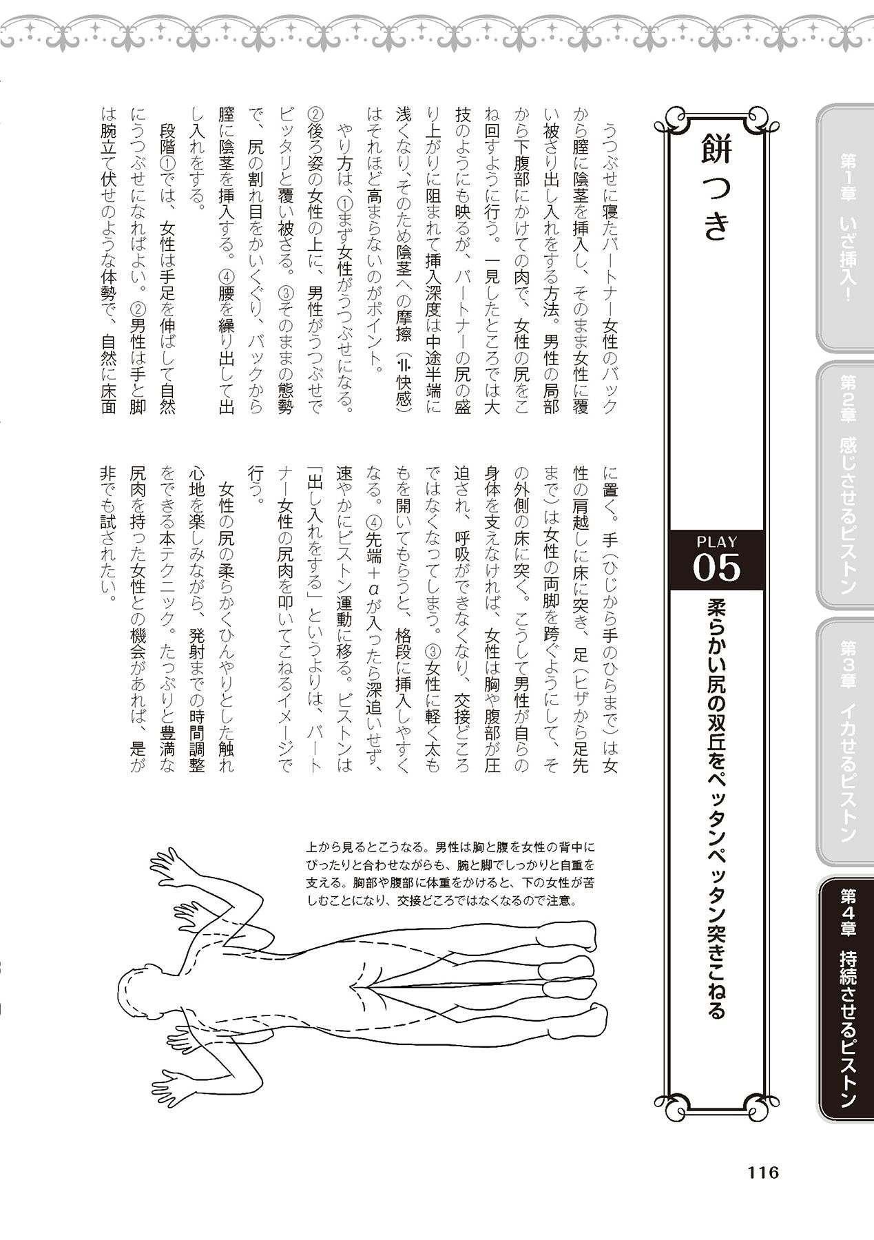 膣挿入&ピストン運動完全マニュアル イラスト版……ピスとんッ! 117