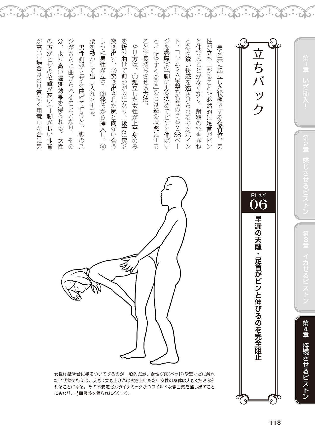 膣挿入&ピストン運動完全マニュアル イラスト版……ピスとんッ! 119