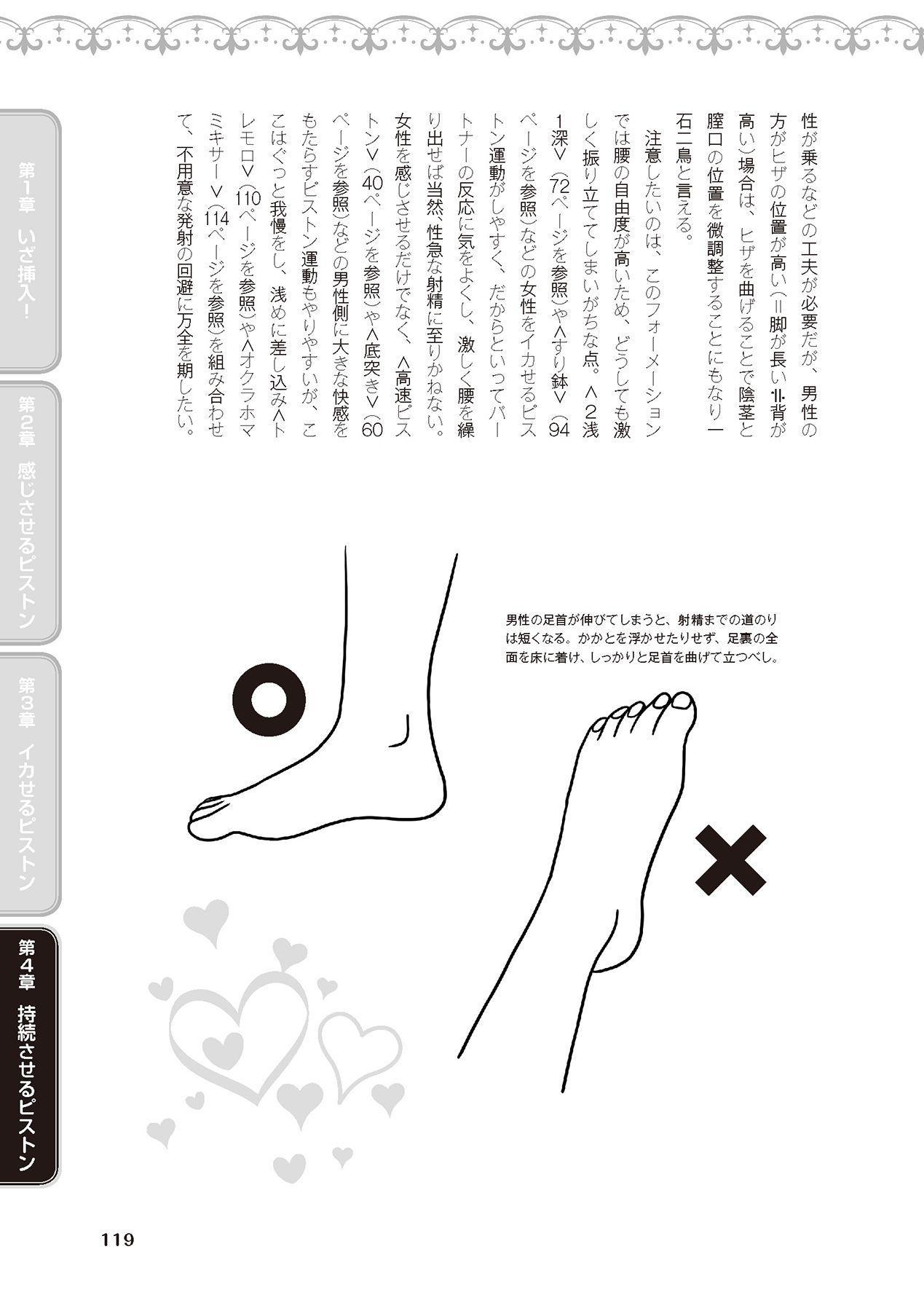 膣挿入&ピストン運動完全マニュアル イラスト版……ピスとんッ! 120