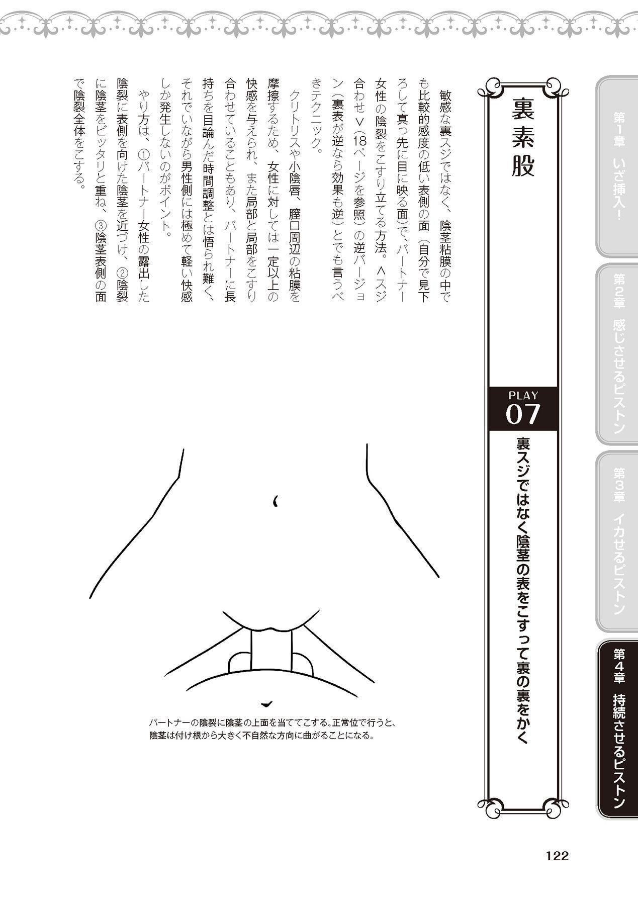膣挿入&ピストン運動完全マニュアル イラスト版……ピスとんッ! 123