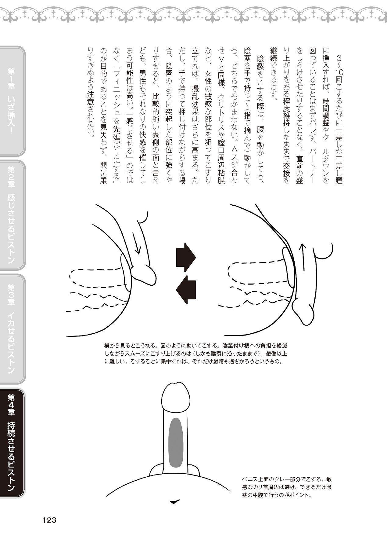 膣挿入&ピストン運動完全マニュアル イラスト版……ピスとんッ! 124