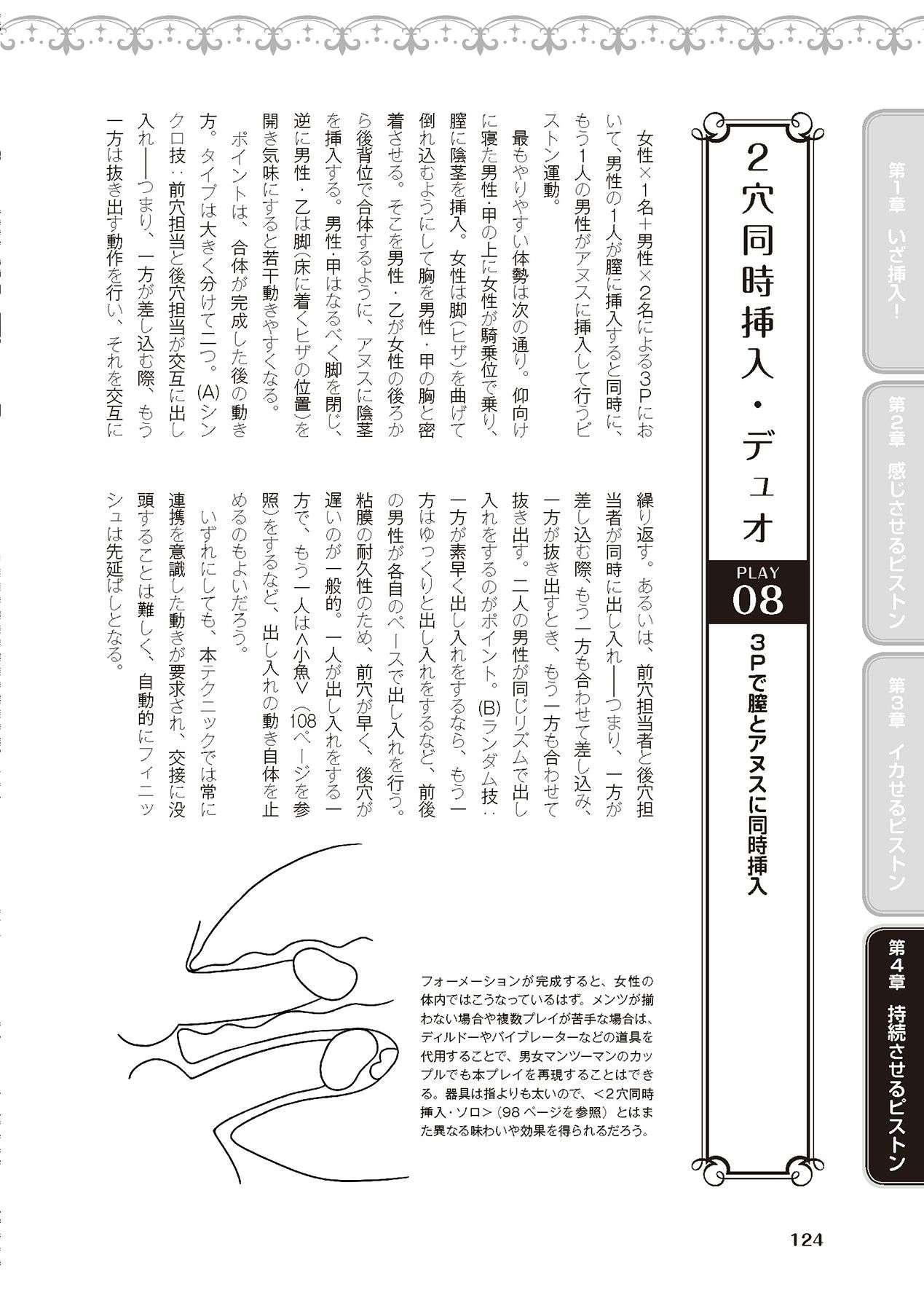 膣挿入&ピストン運動完全マニュアル イラスト版……ピスとんッ! 125