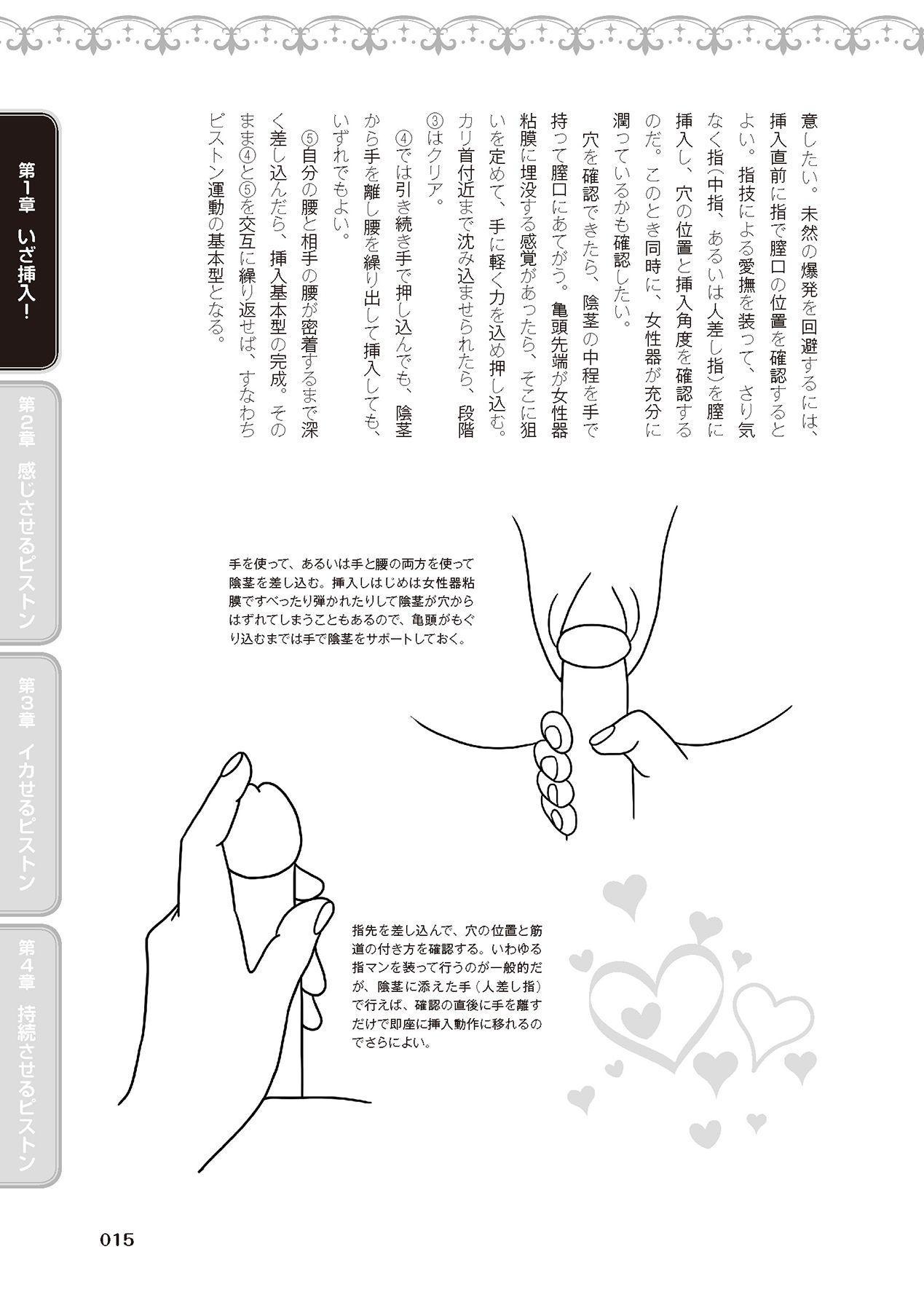 膣挿入&ピストン運動完全マニュアル イラスト版……ピスとんッ! 16