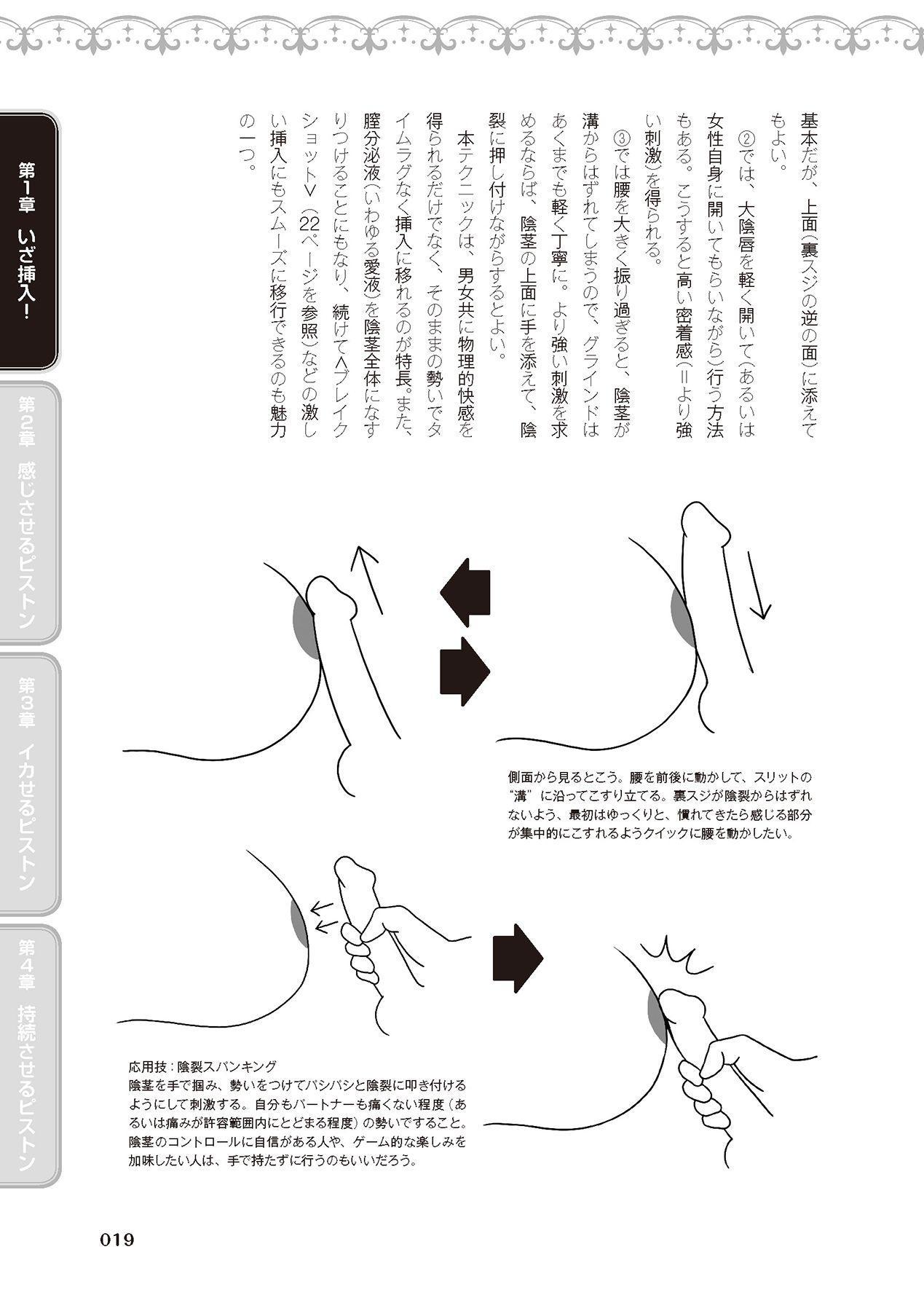 膣挿入&ピストン運動完全マニュアル イラスト版……ピスとんッ! 20