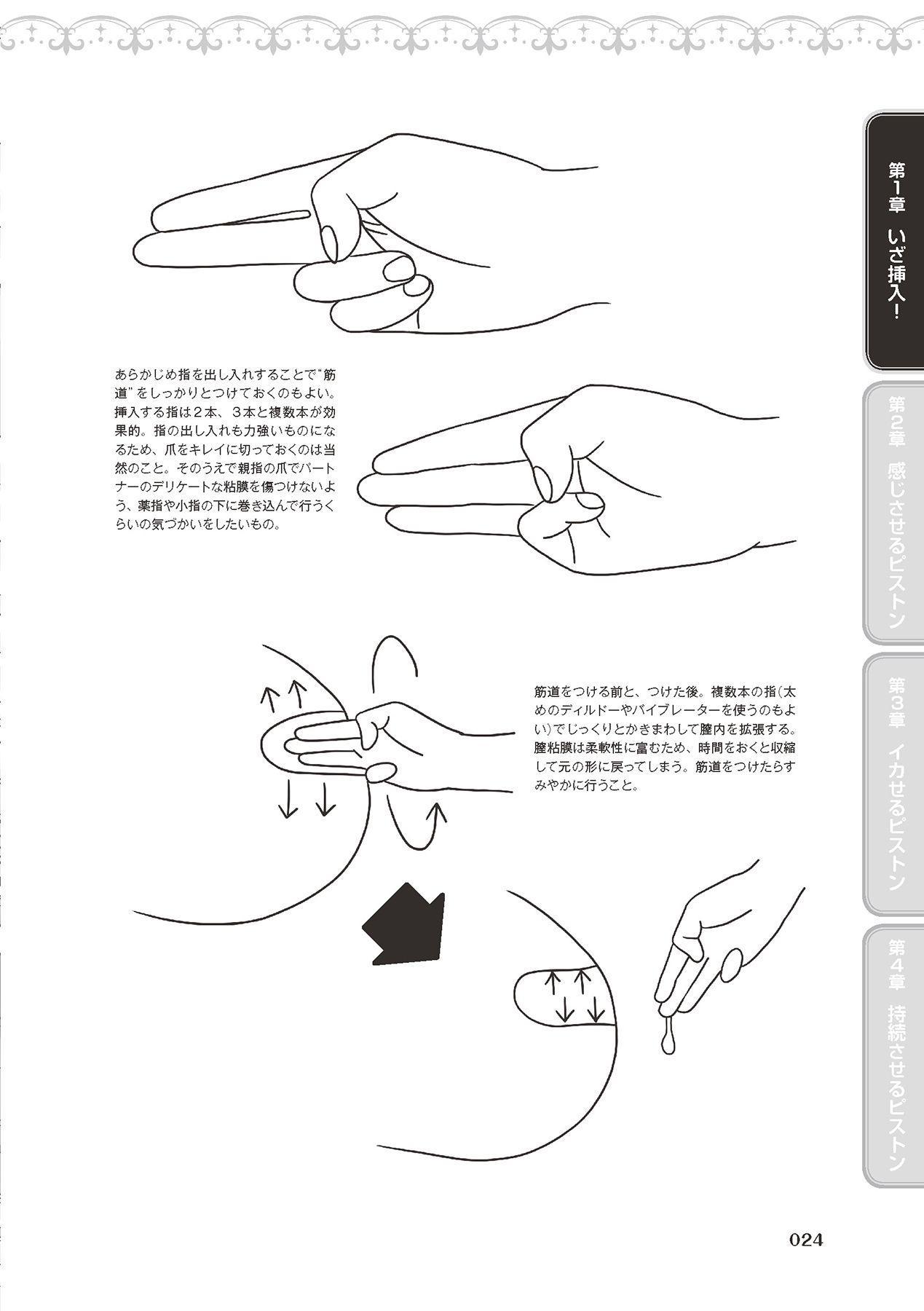 膣挿入&ピストン運動完全マニュアル イラスト版……ピスとんッ! 25