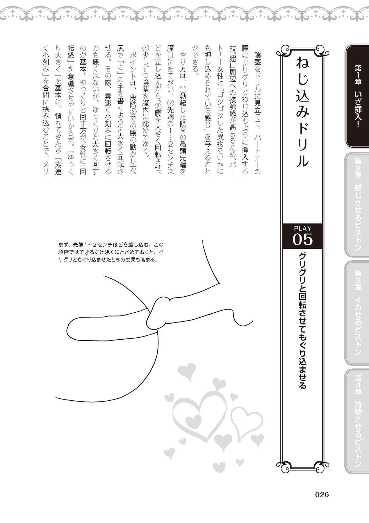 膣挿入&ピストン運動完全マニュアル イラスト版……ピスとんッ! 27