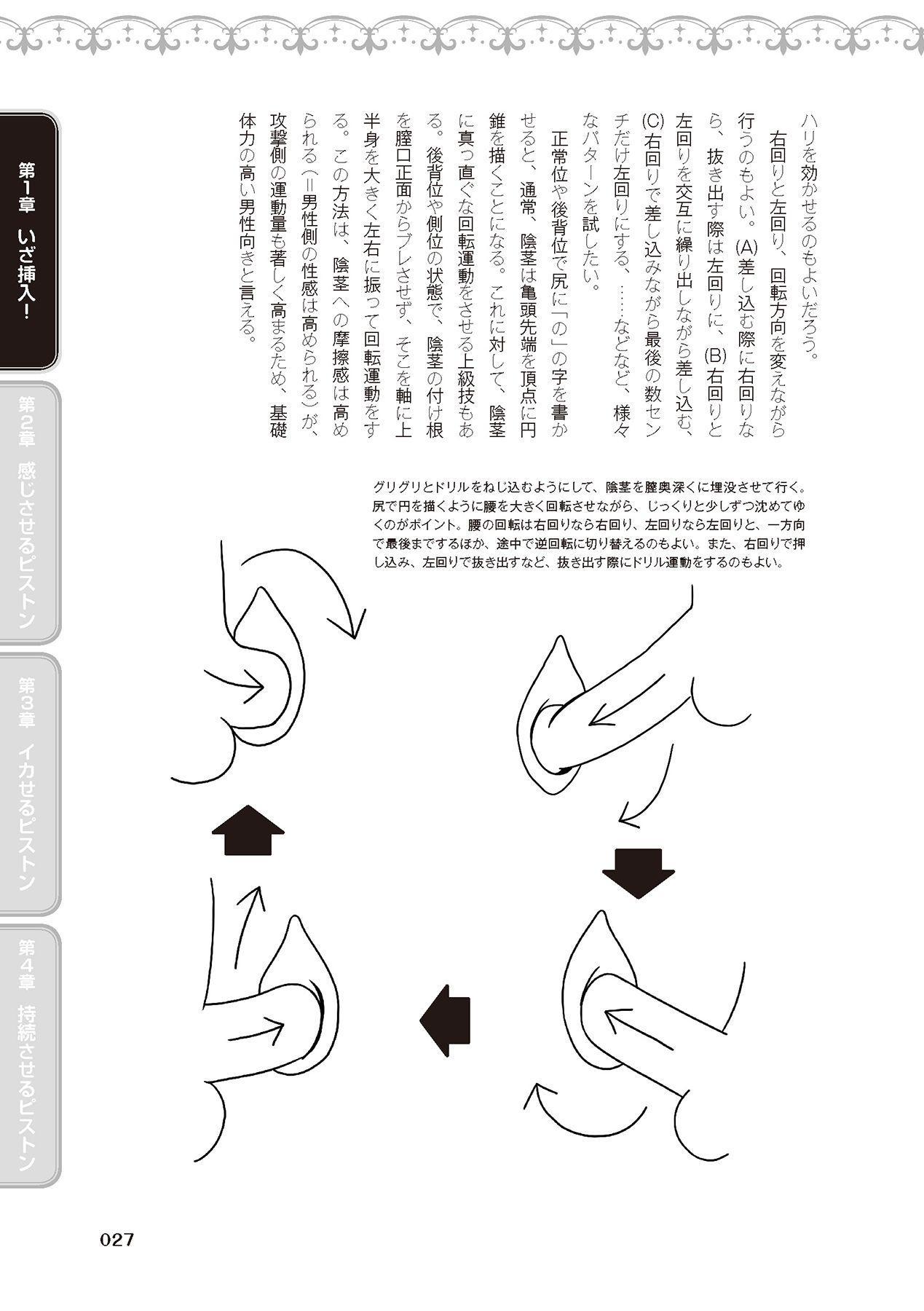 膣挿入&ピストン運動完全マニュアル イラスト版……ピスとんッ! 28