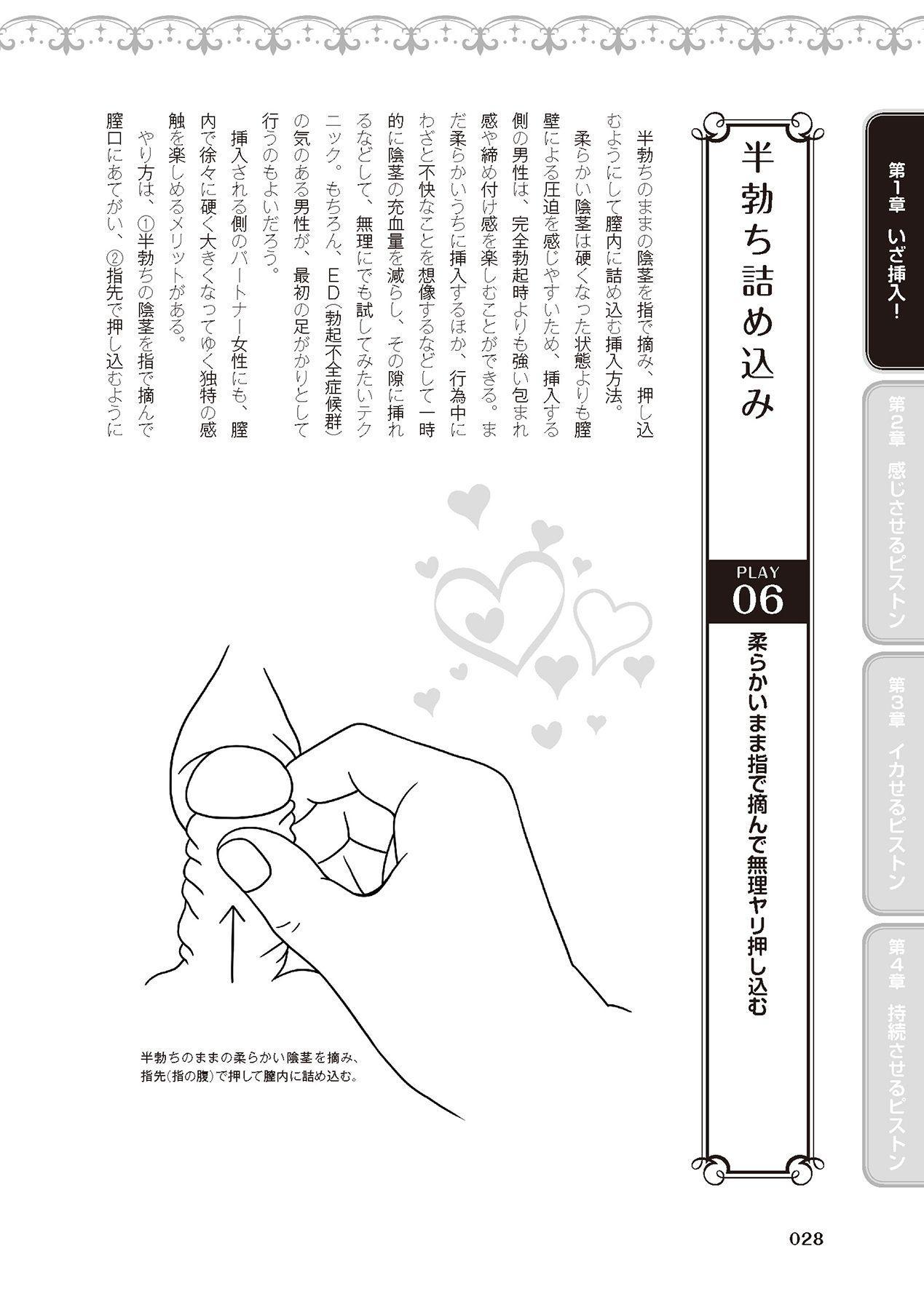 膣挿入&ピストン運動完全マニュアル イラスト版……ピスとんッ! 29