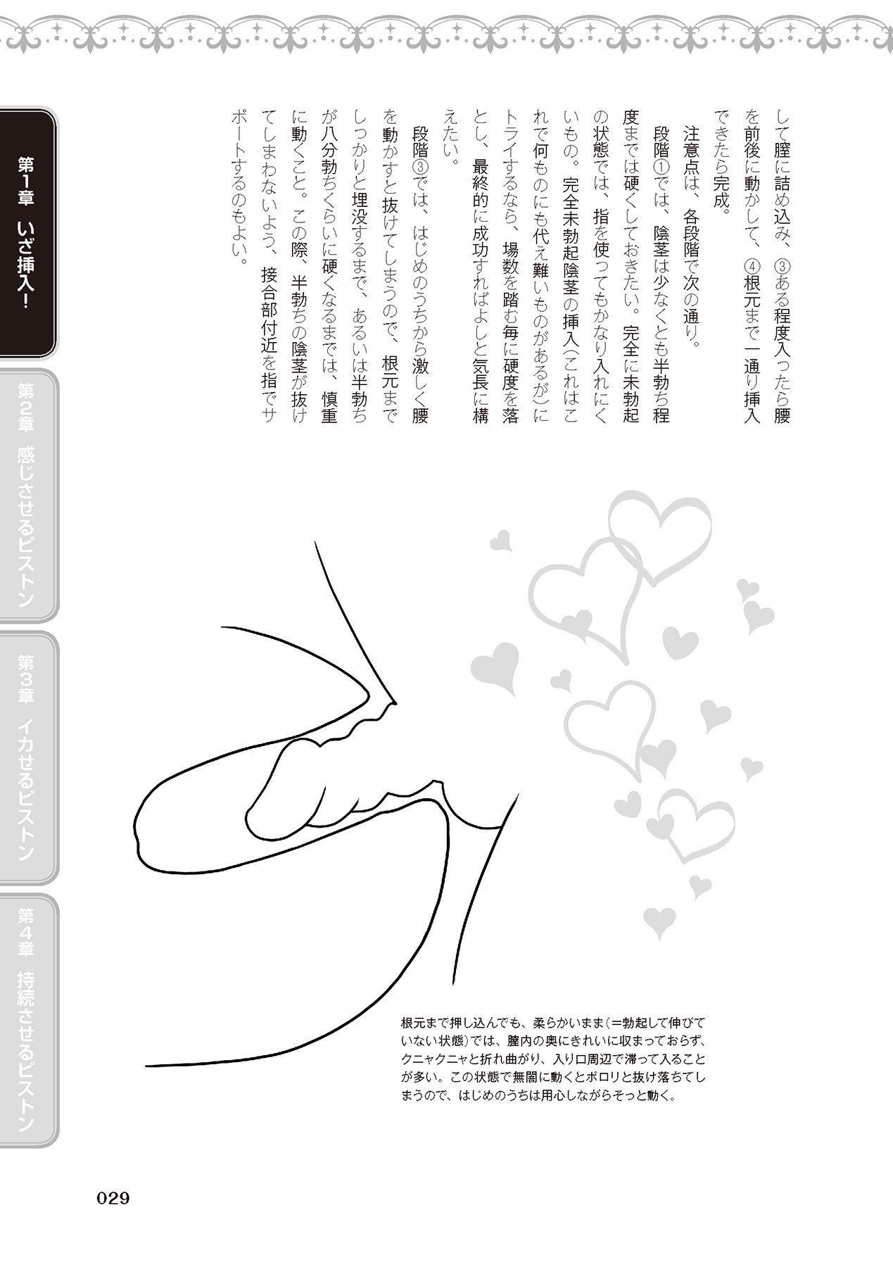 膣挿入&ピストン運動完全マニュアル イラスト版……ピスとんッ! 30