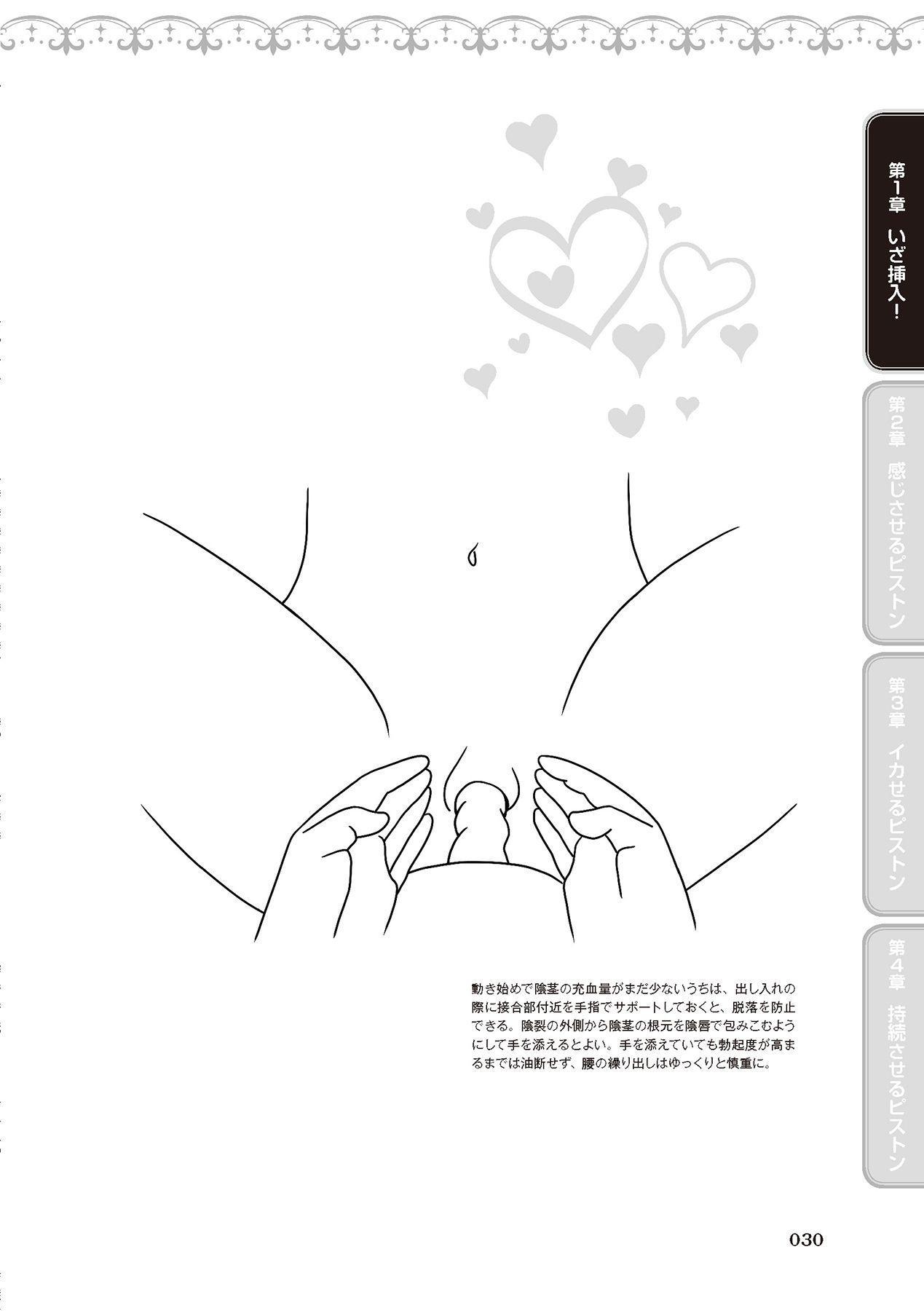 膣挿入&ピストン運動完全マニュアル イラスト版……ピスとんッ! 31