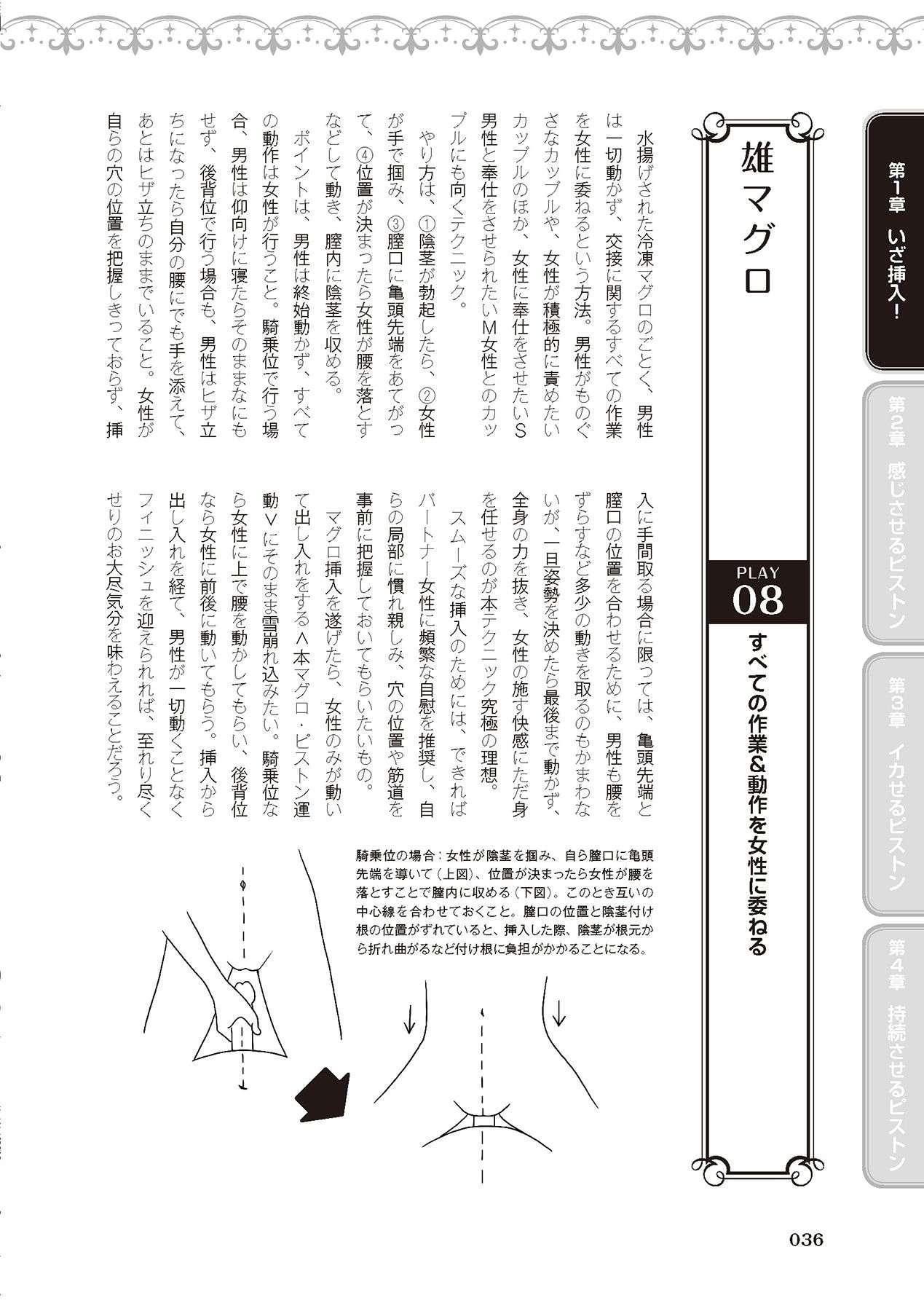 膣挿入&ピストン運動完全マニュアル イラスト版……ピスとんッ! 37