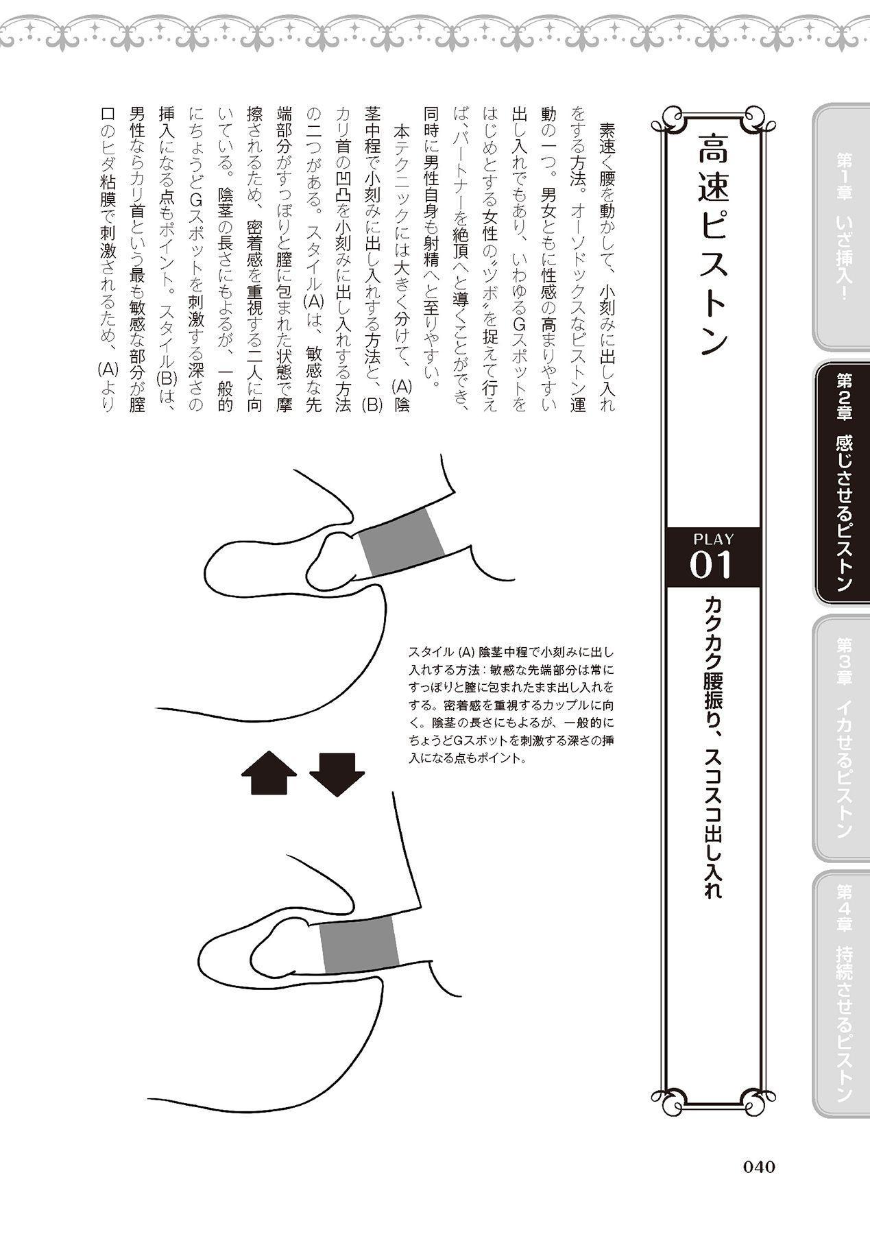 膣挿入&ピストン運動完全マニュアル イラスト版……ピスとんッ! 41