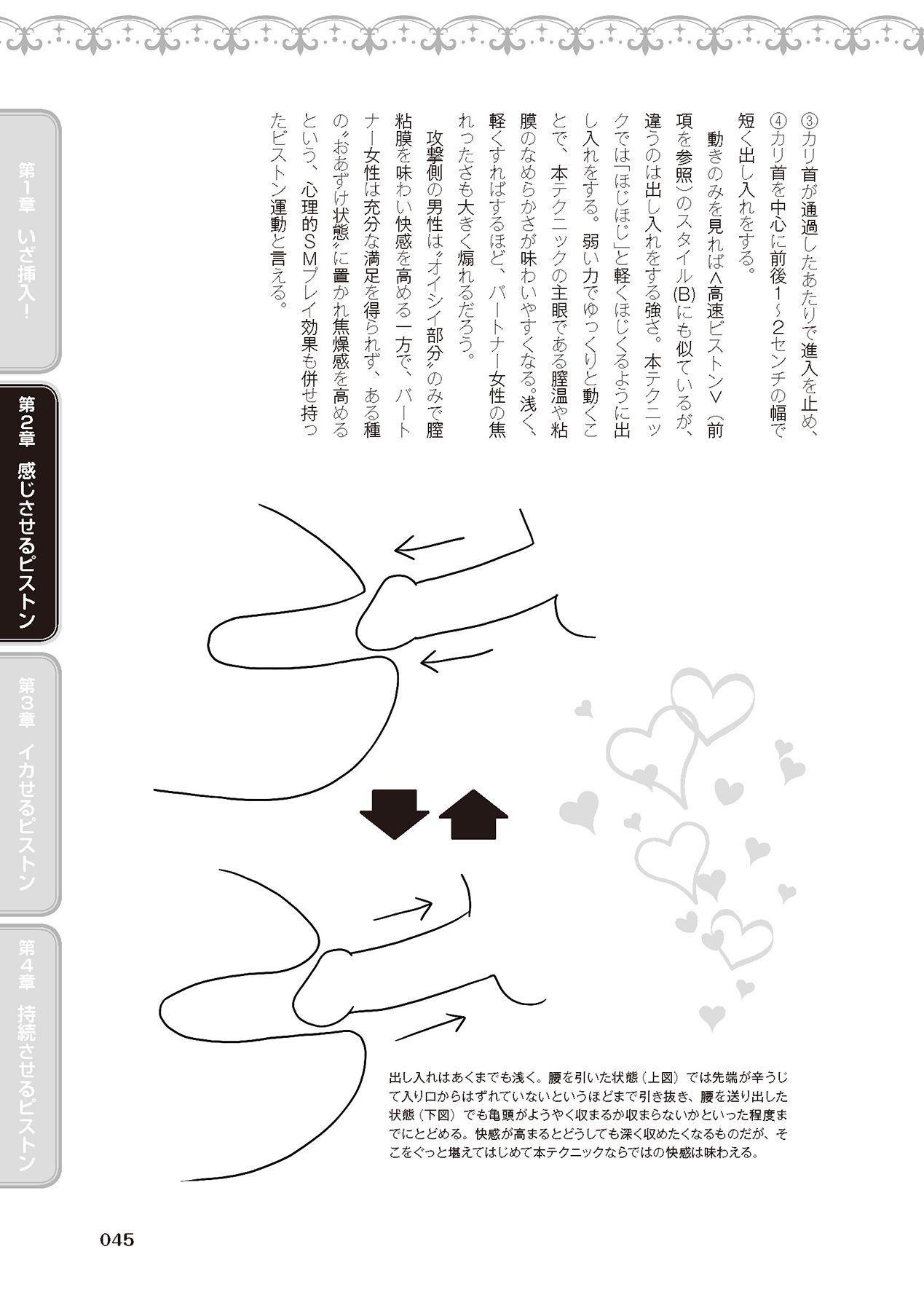 膣挿入&ピストン運動完全マニュアル イラスト版……ピスとんッ! 46