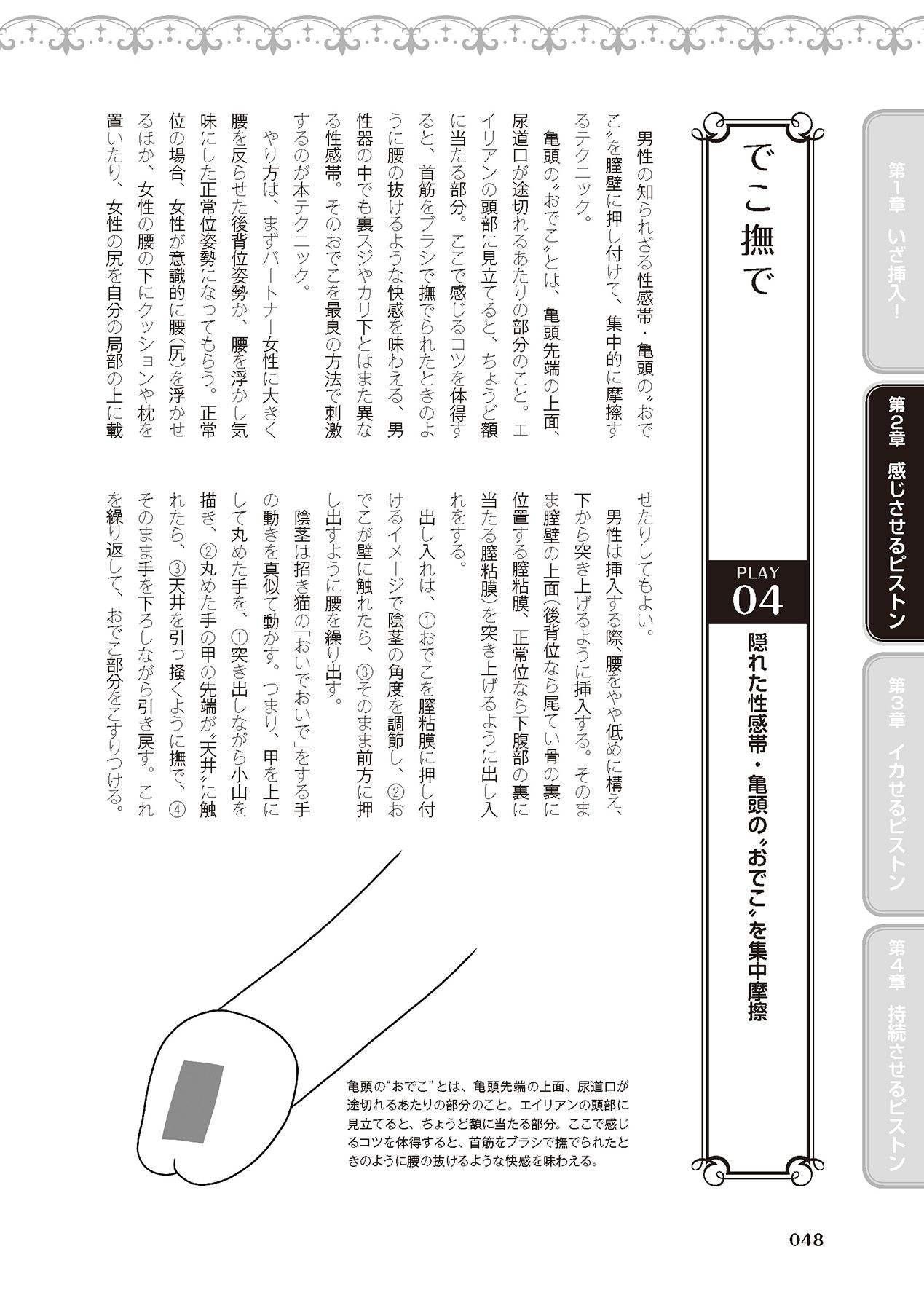 膣挿入&ピストン運動完全マニュアル イラスト版……ピスとんッ! 49