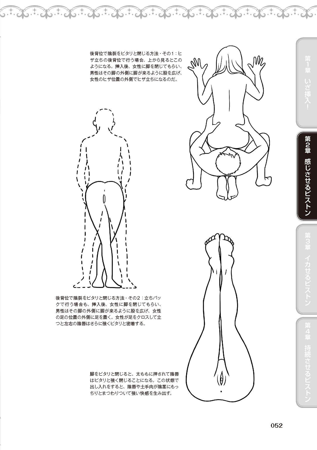 膣挿入&ピストン運動完全マニュアル イラスト版……ピスとんッ! 53