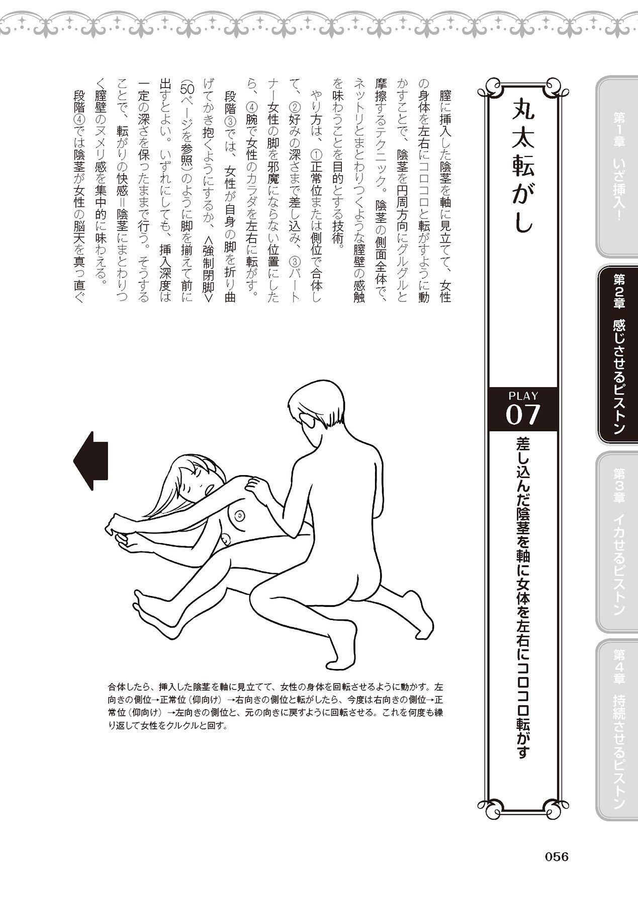 膣挿入&ピストン運動完全マニュアル イラスト版……ピスとんッ! 57