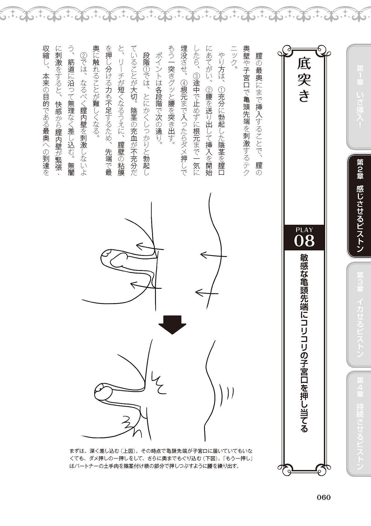 膣挿入&ピストン運動完全マニュアル イラスト版……ピスとんッ! 61