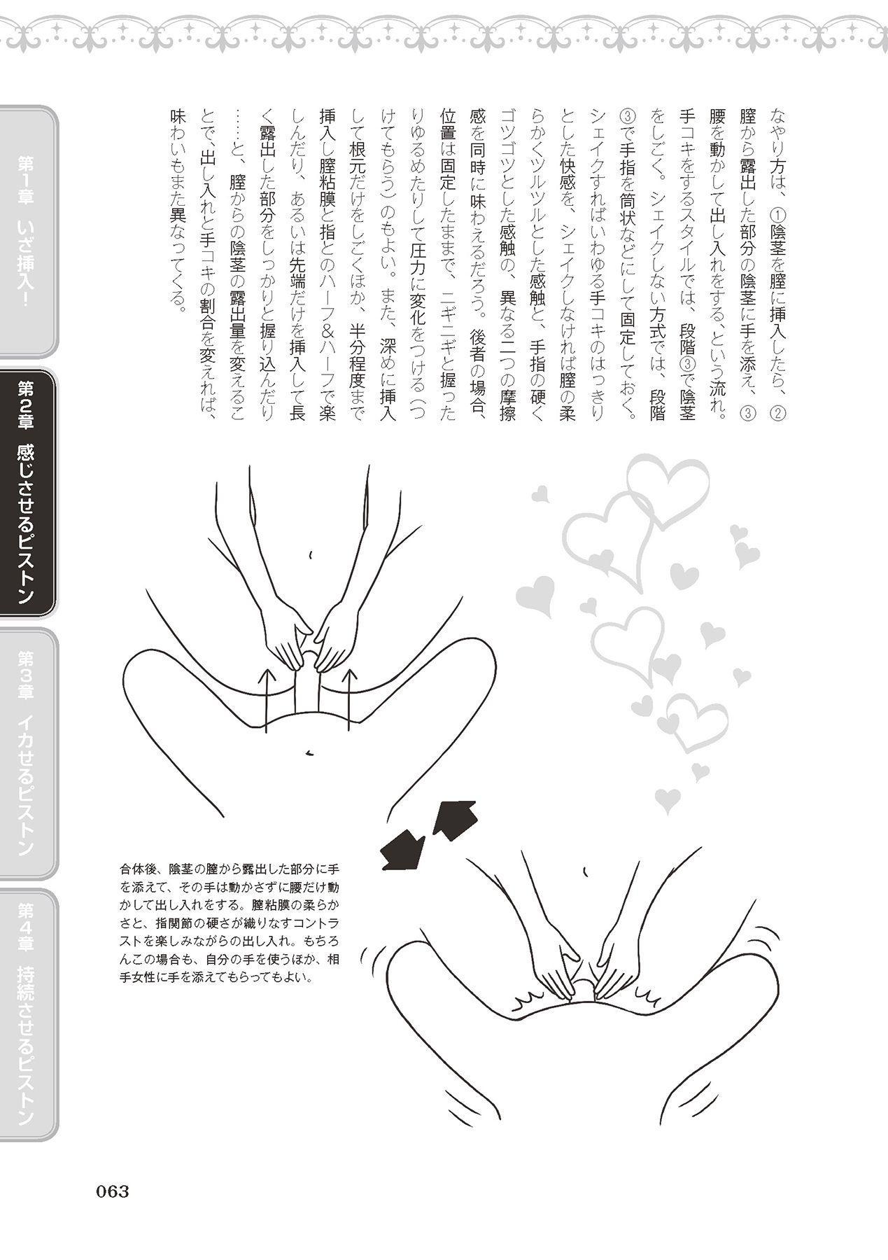膣挿入&ピストン運動完全マニュアル イラスト版……ピスとんッ! 64