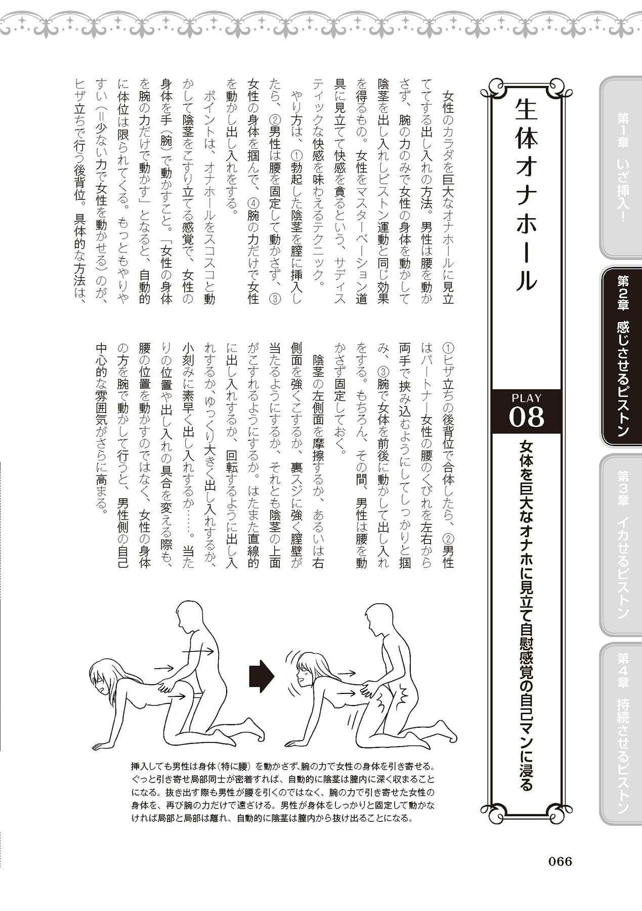膣挿入&ピストン運動完全マニュアル イラスト版……ピスとんッ! 67