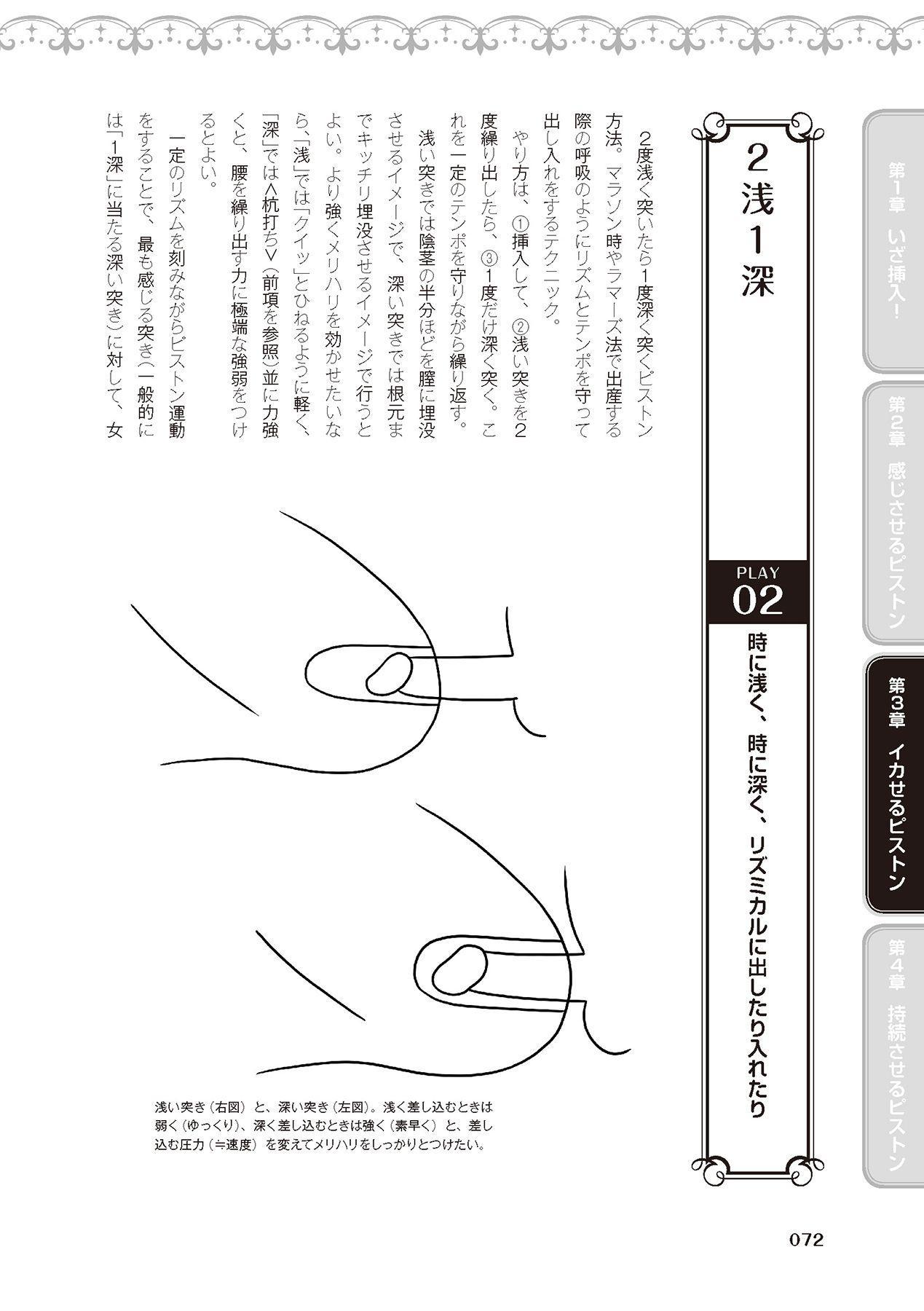 膣挿入&ピストン運動完全マニュアル イラスト版……ピスとんッ! 73