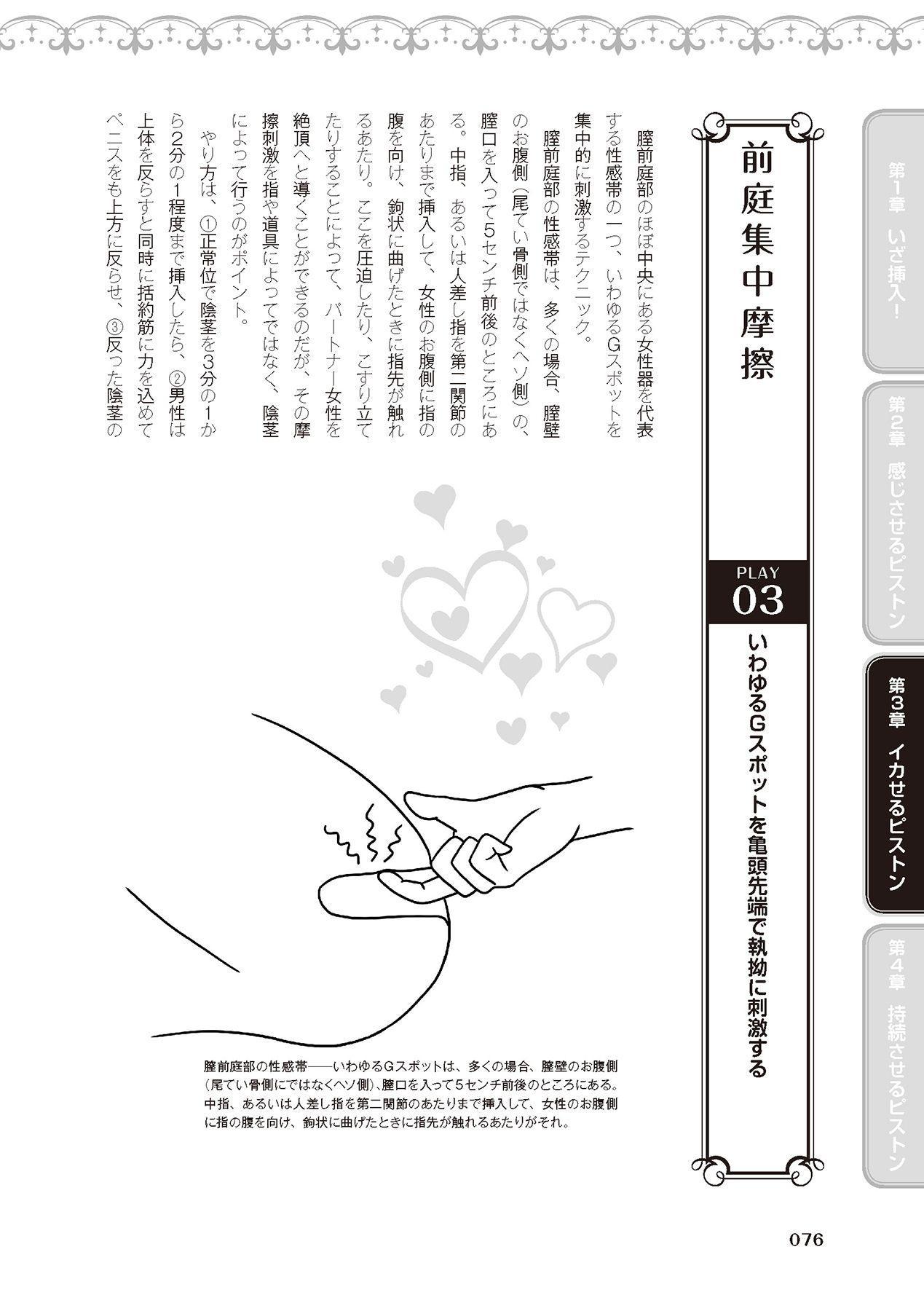 膣挿入&ピストン運動完全マニュアル イラスト版……ピスとんッ! 77