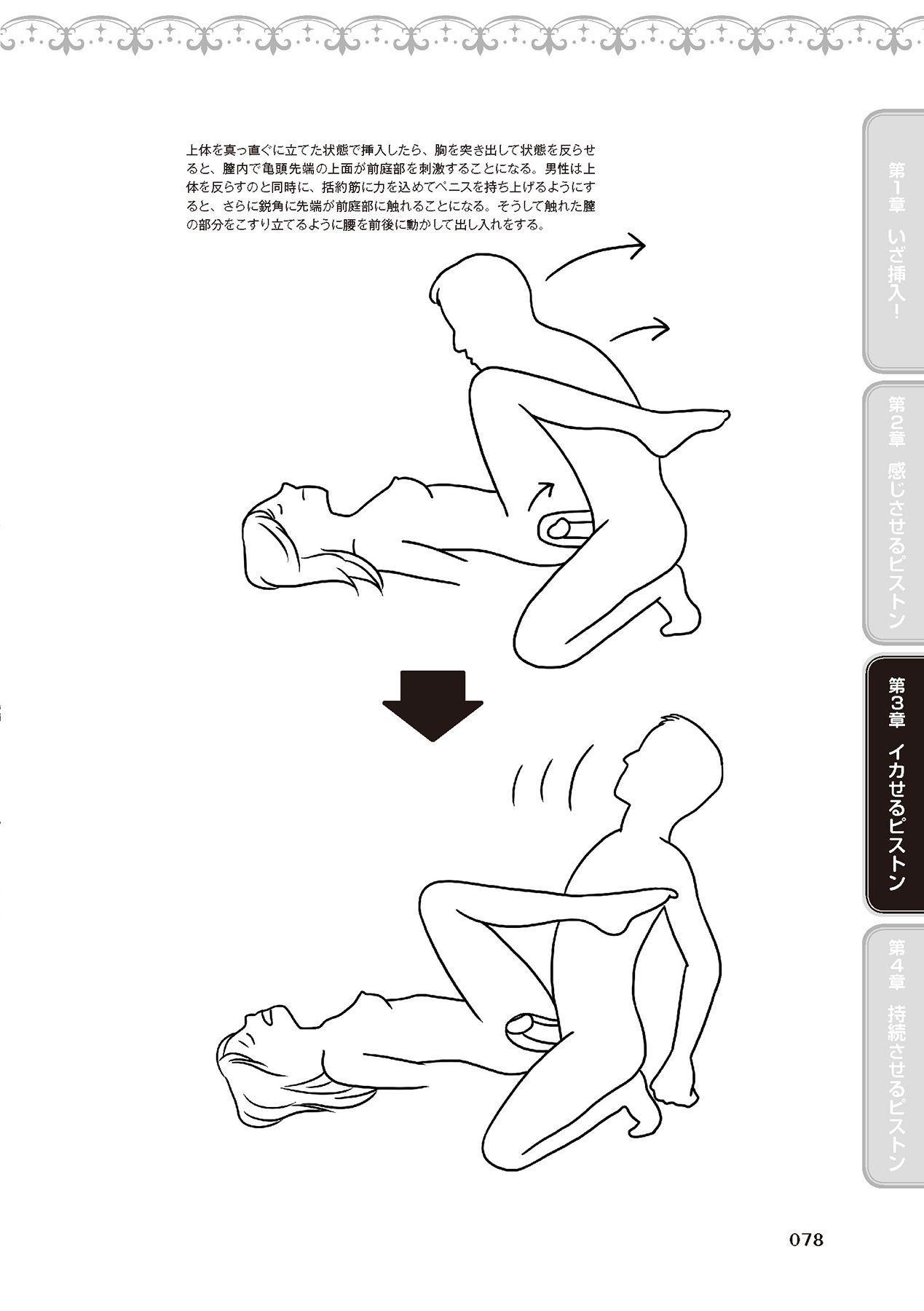 膣挿入&ピストン運動完全マニュアル イラスト版……ピスとんッ! 79