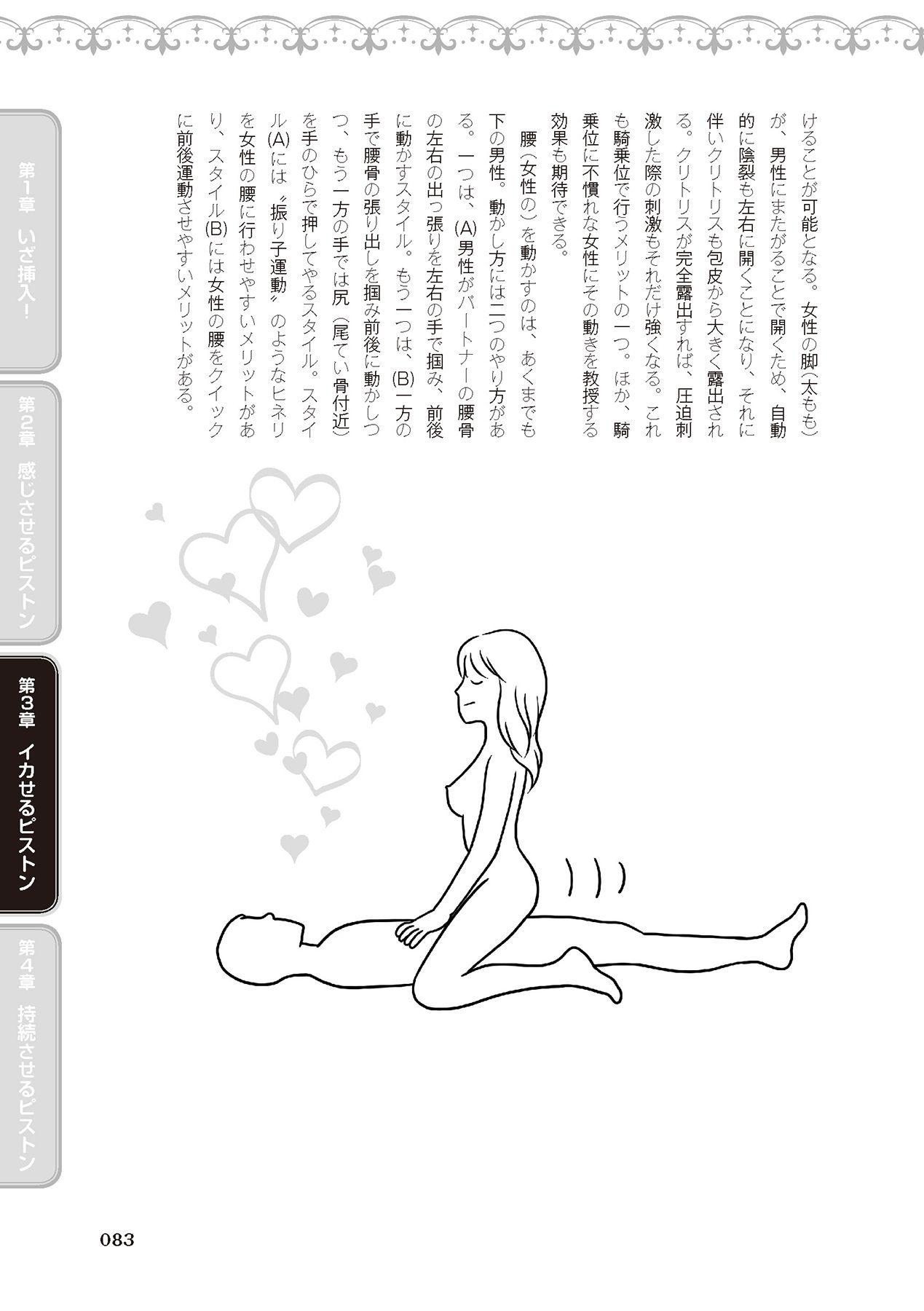 膣挿入&ピストン運動完全マニュアル イラスト版……ピスとんッ! 84