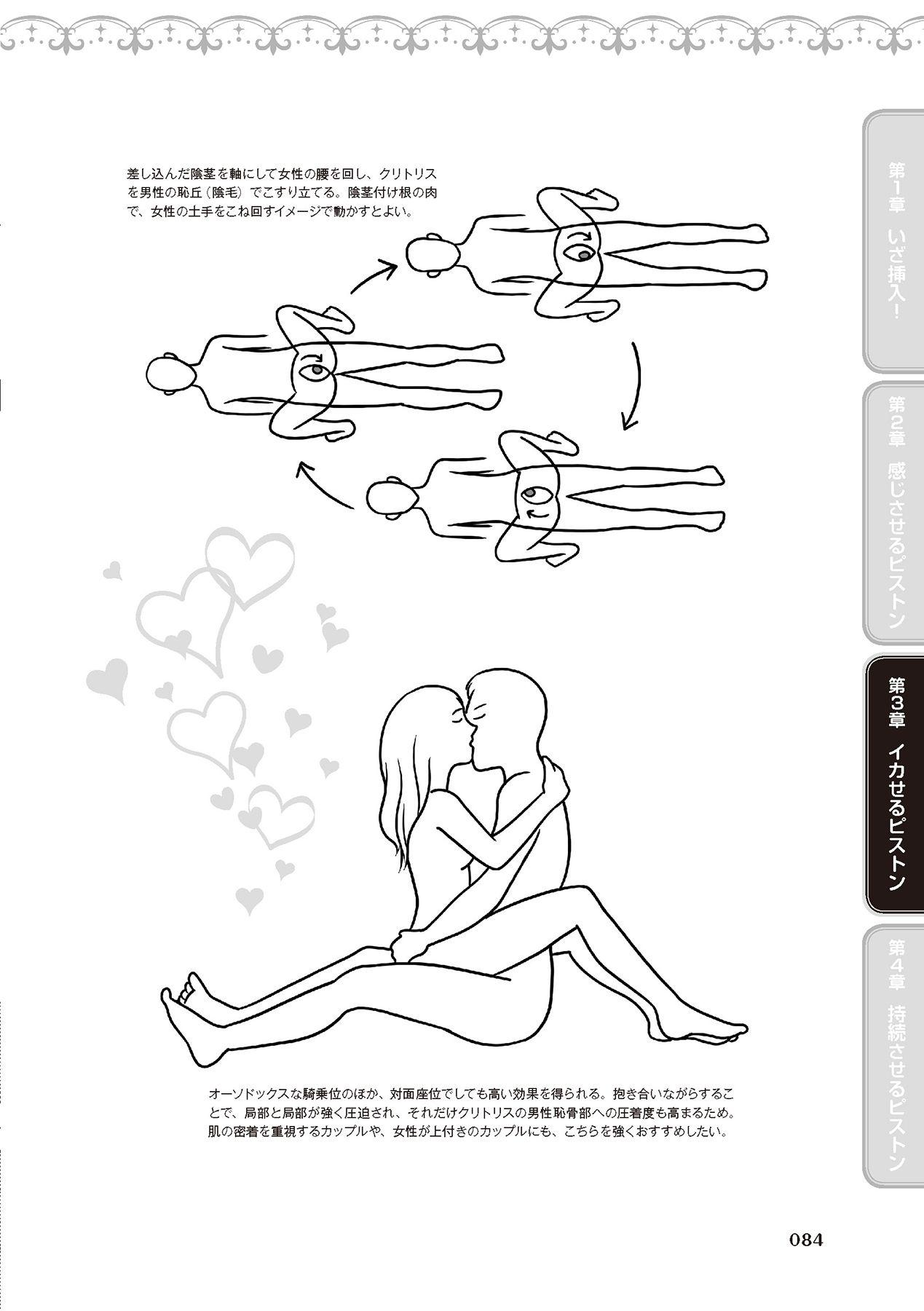 膣挿入&ピストン運動完全マニュアル イラスト版……ピスとんッ! 85