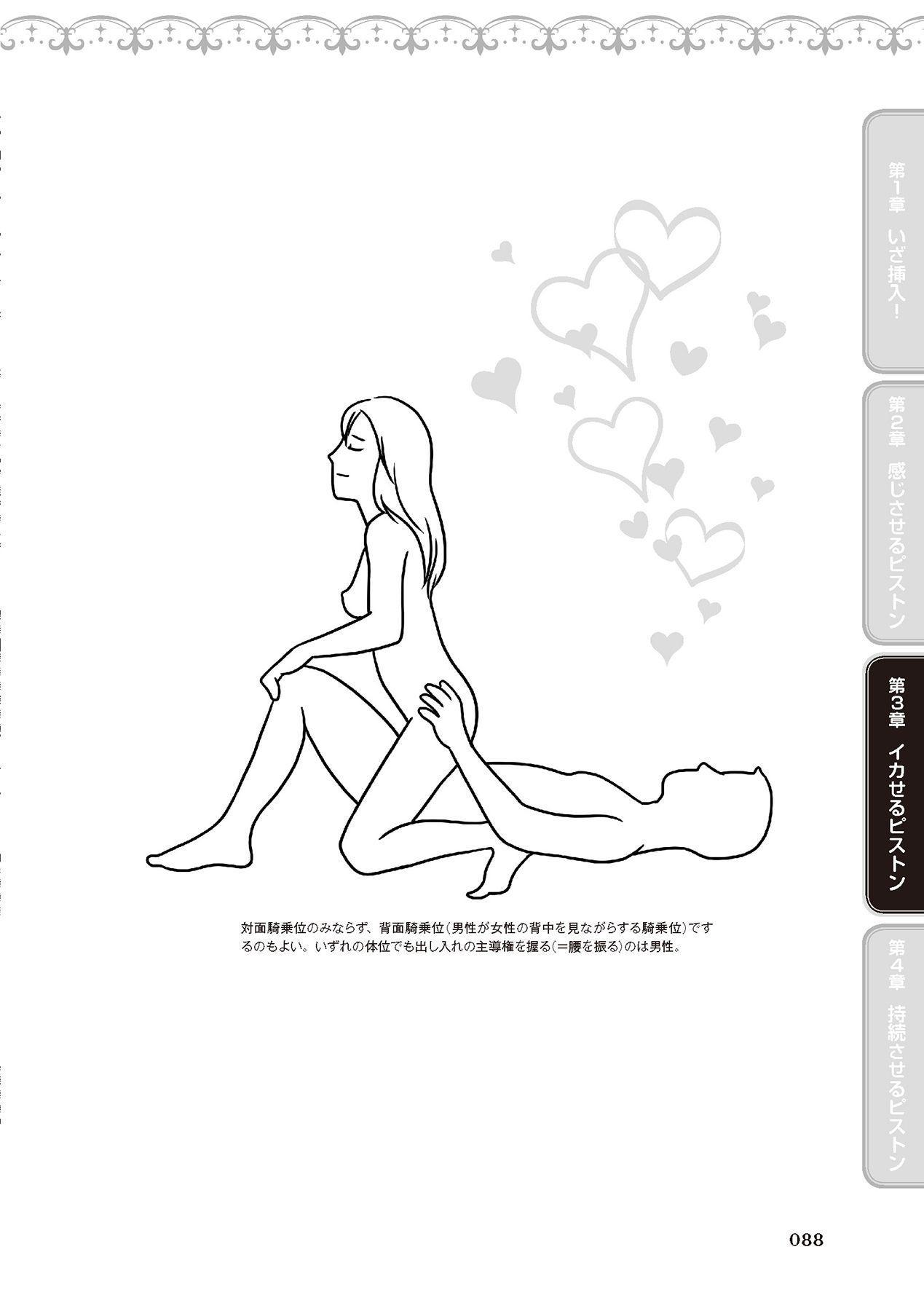 膣挿入&ピストン運動完全マニュアル イラスト版……ピスとんッ! 89